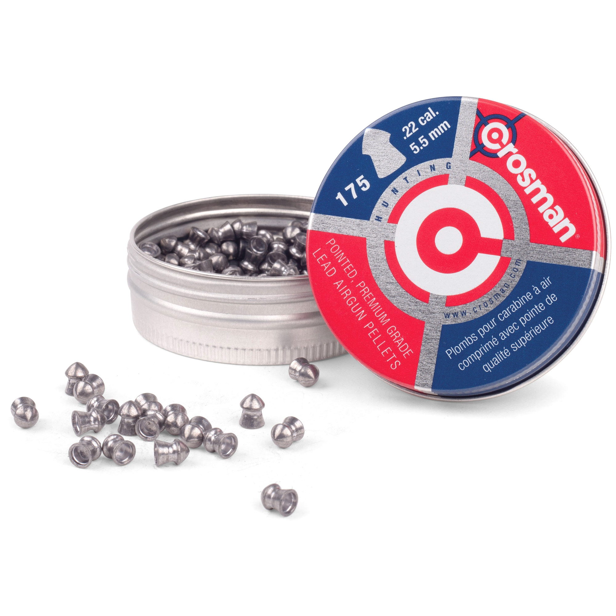 Crosman .22 Pointed Pellets 175/tin
