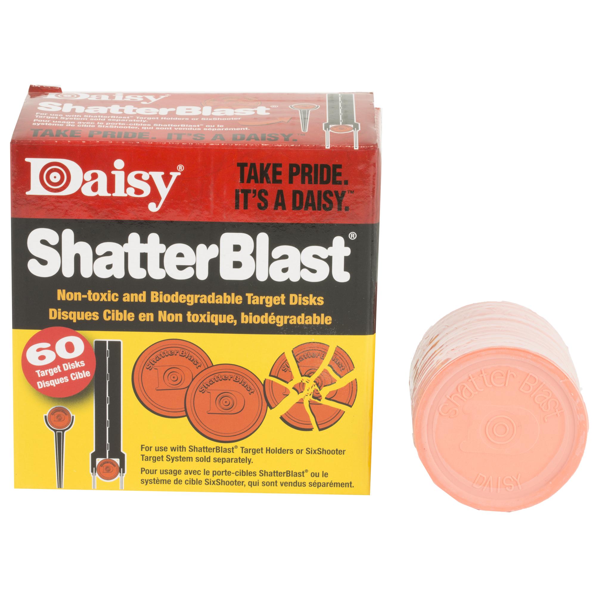"Daisy 2"" Shatterblast Trgts 60/pk"