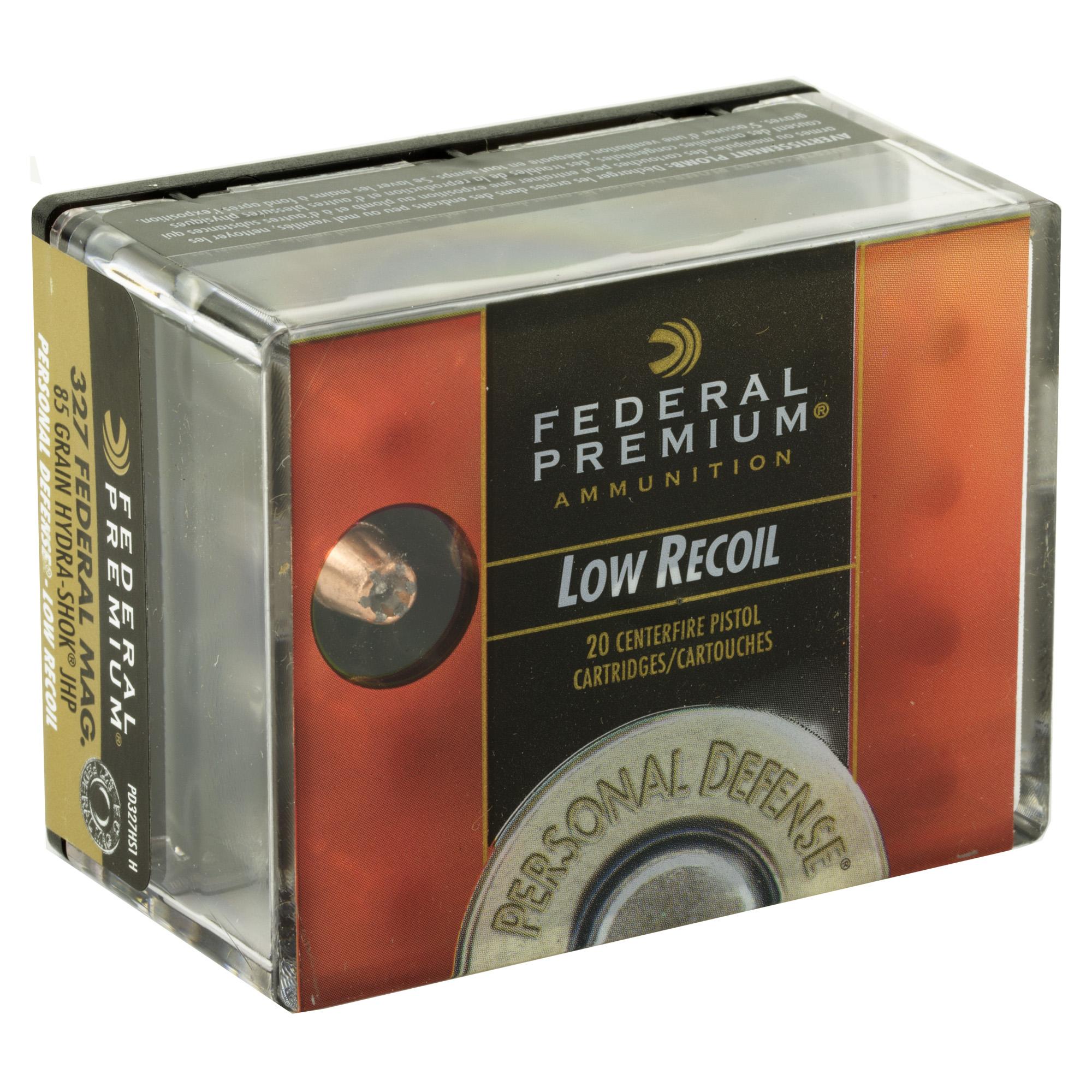 Fed Pd Hydra-shok 327fed 85gr 20/200