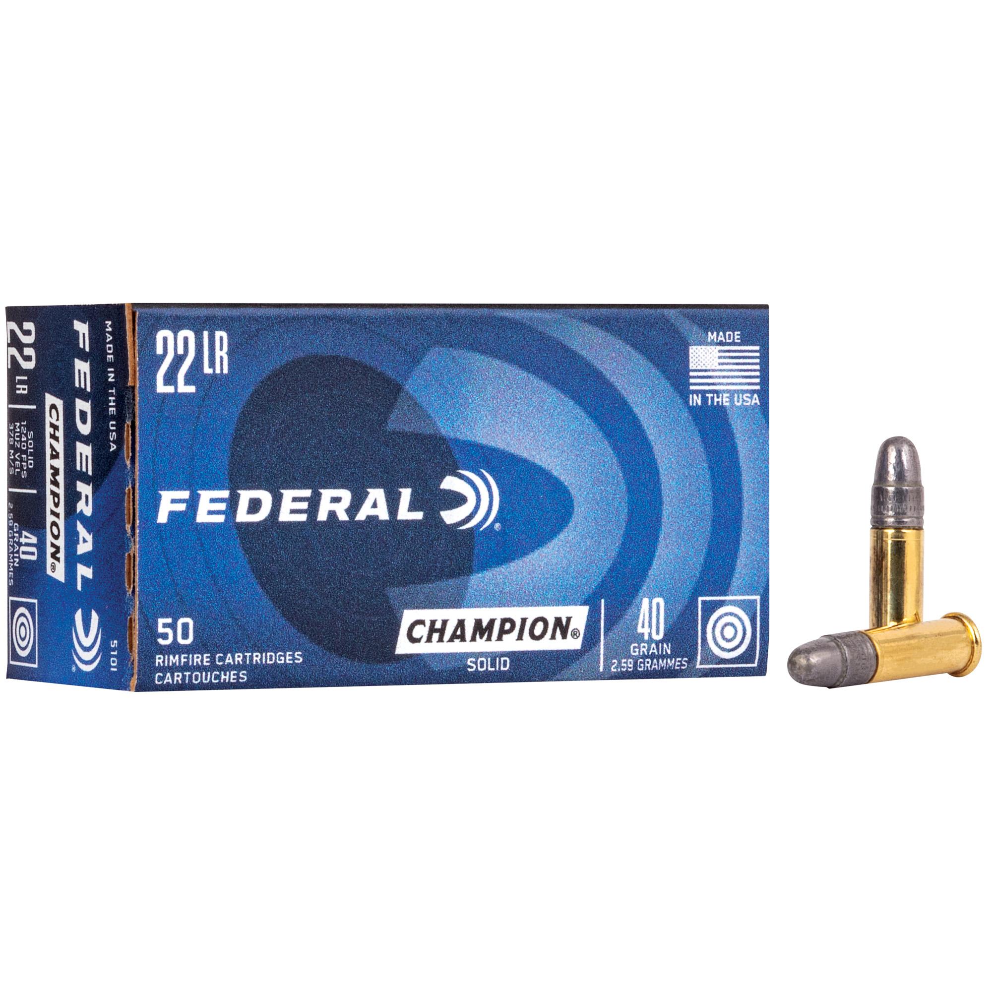 Fed Lightning 22lr 40gr Sld 50/5000
