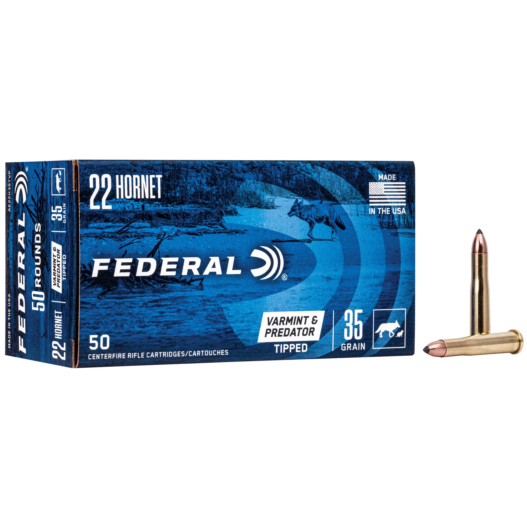Fed Am Eagle V&p 22hrn 35gr 50/500
