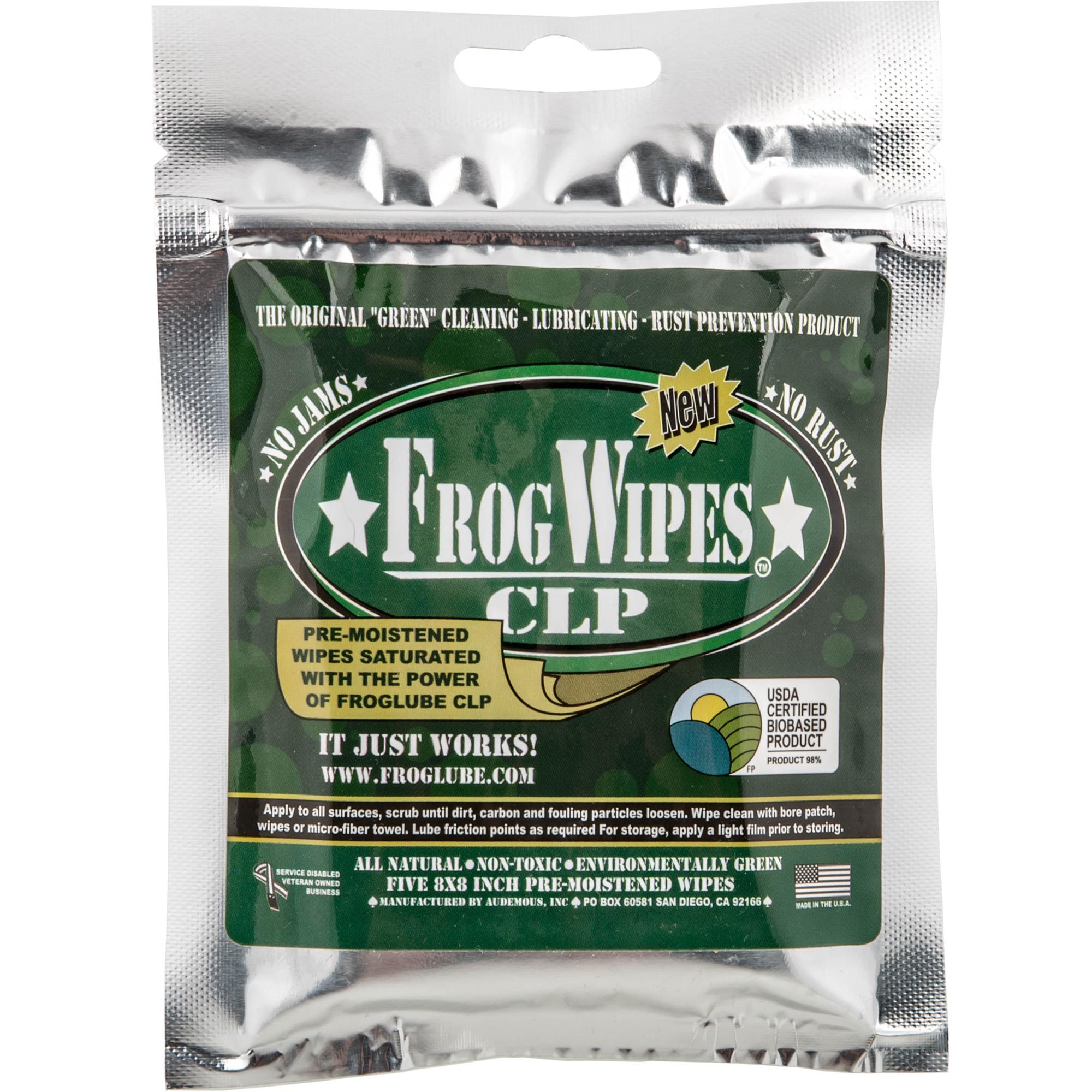 Froglube Clp Frogwipes 12/pk