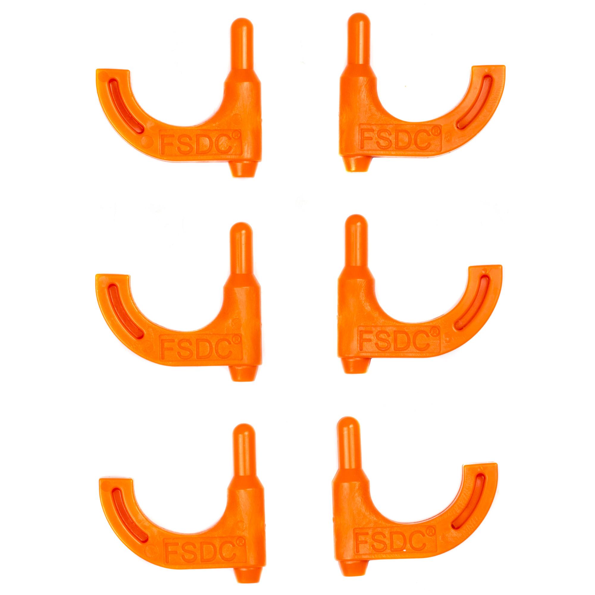 Fsdc Orange Pistol Chamber Flag 6pk