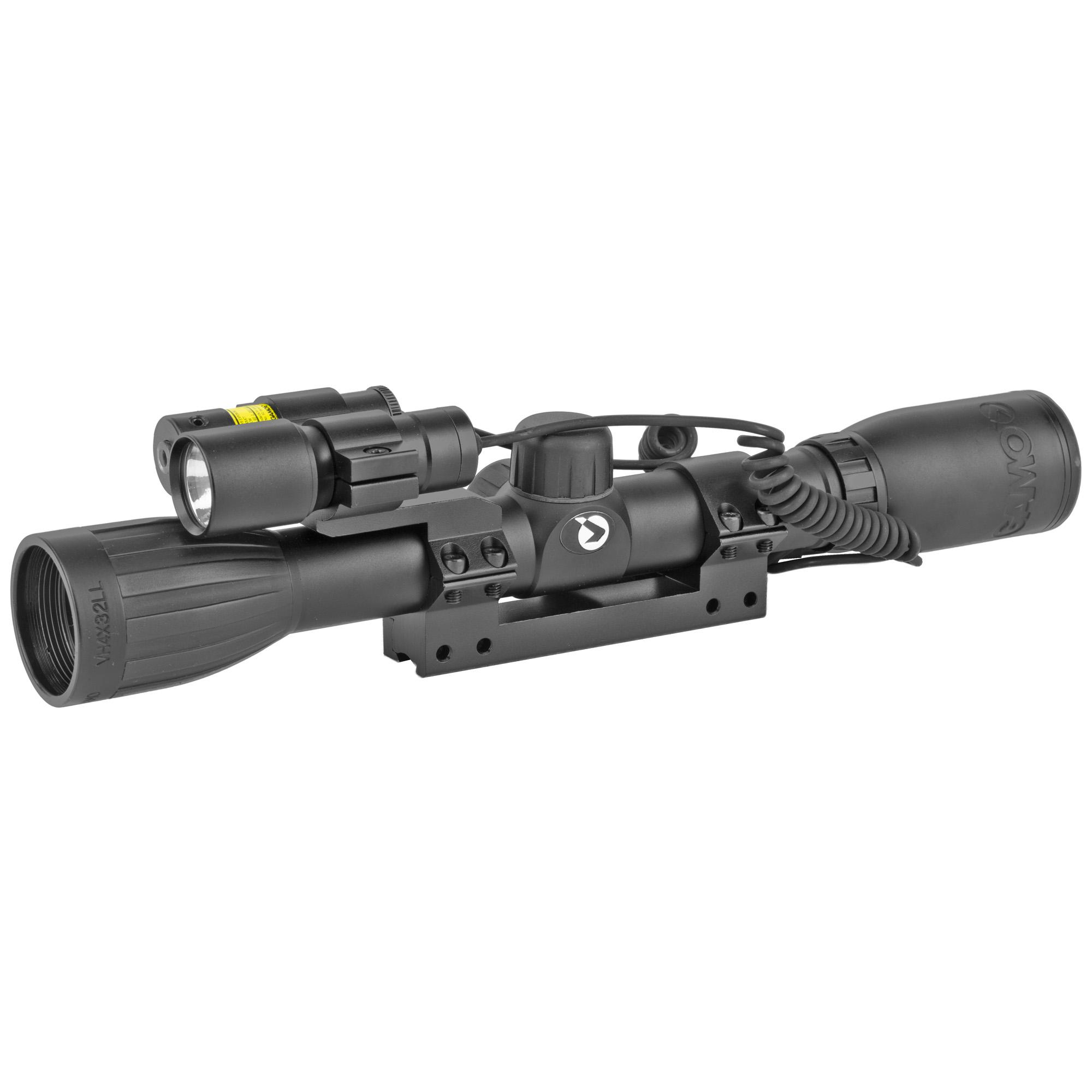 Gamo Varm Huntr 4x32 Scp/light/laser