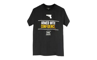 Glock Oem Armed W/ Confidence Blk 2x