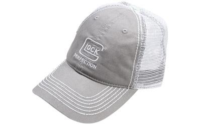 Glock Oem Glock Perfection Mesh Hat Light Grey As10015