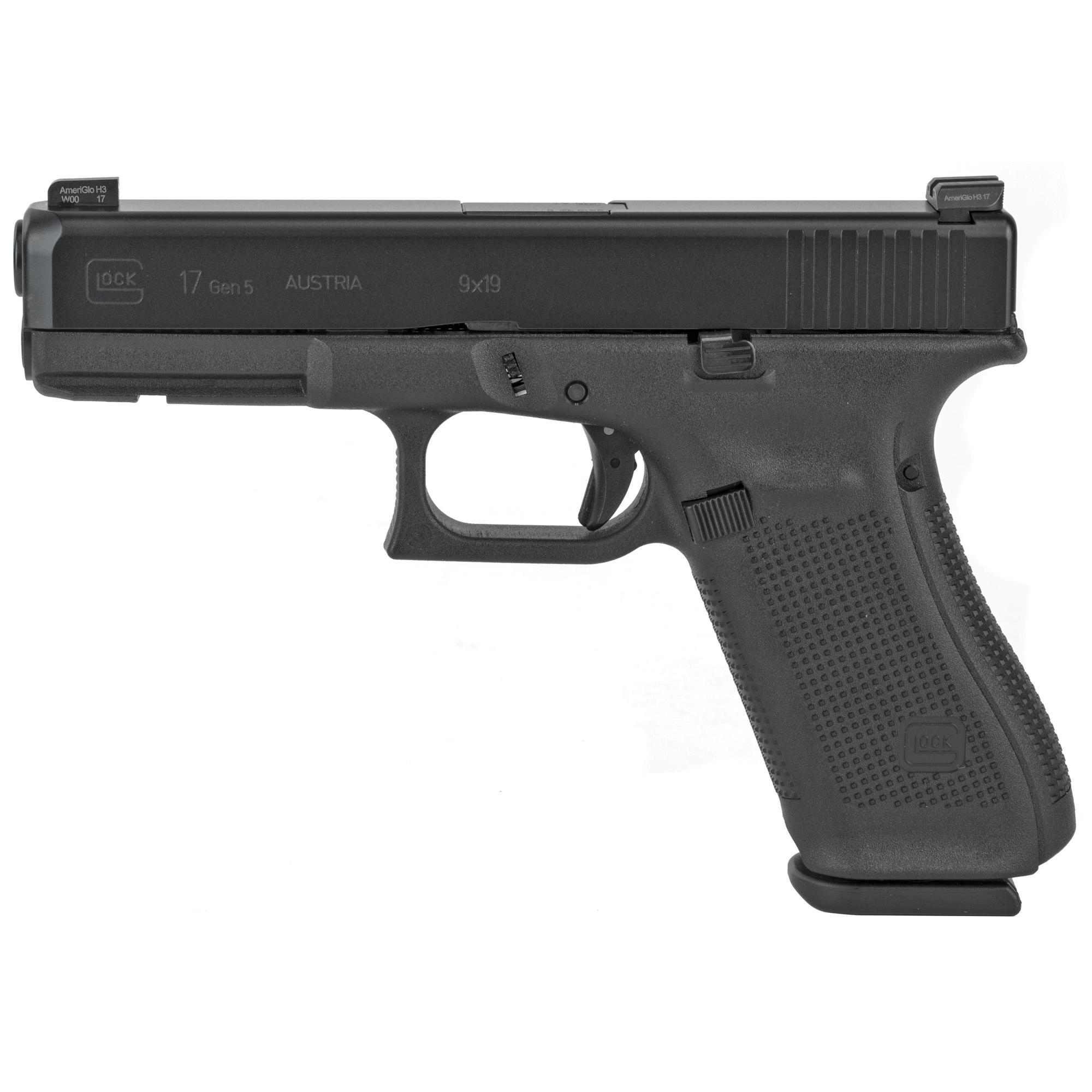 Glock 17 Gen5 9mm Ameriglo 10rd 3mag