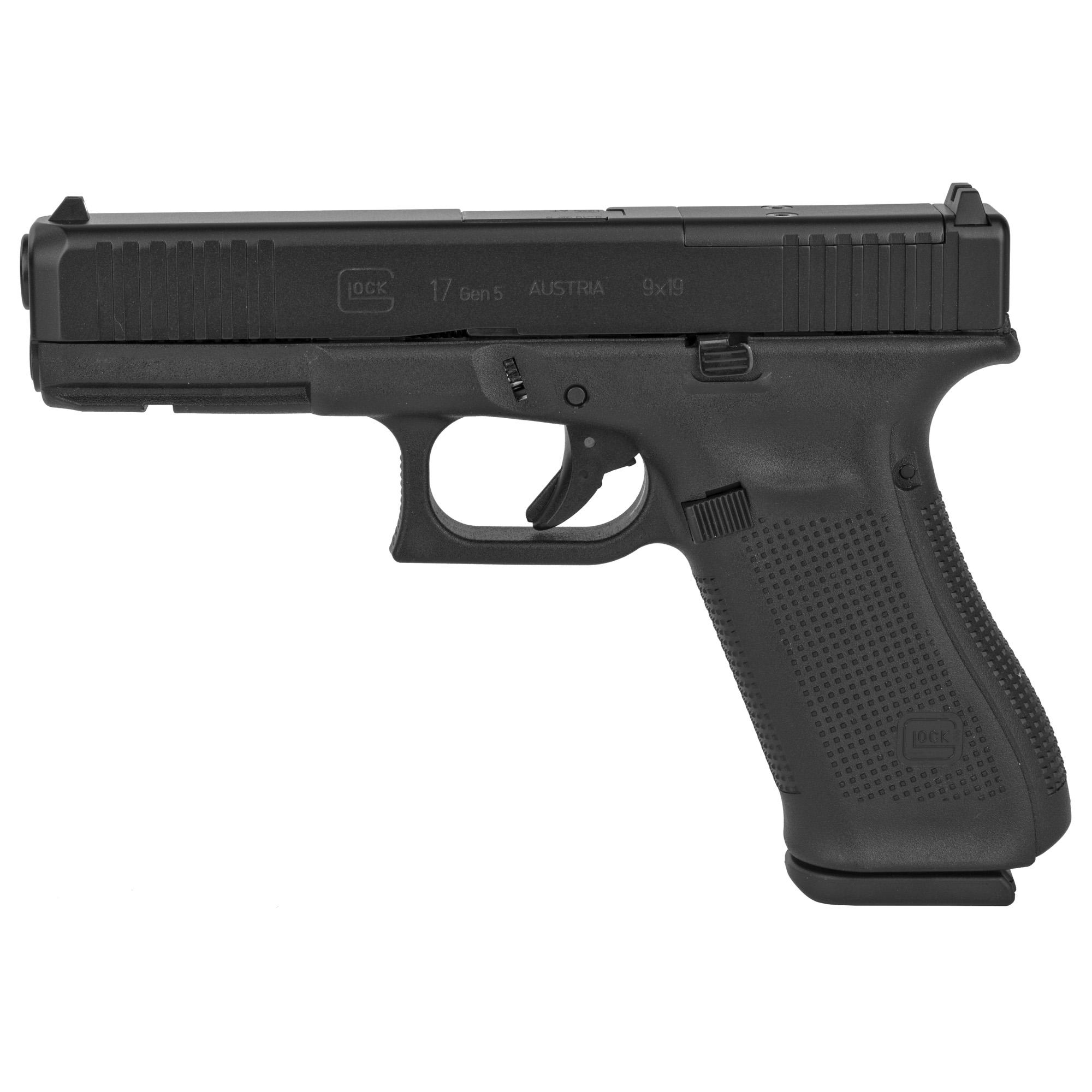 Glock 17 Gen5 9mm 10rd 3 Mags Mos Fs