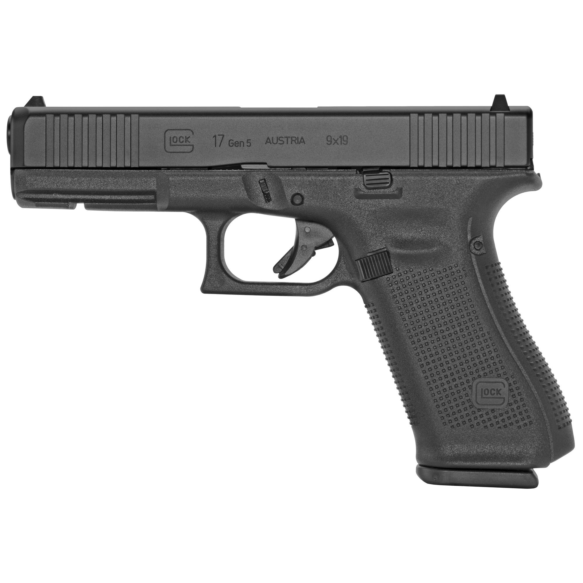 Glock 17 Gen5 9mm 10rd 3 Mags Fs
