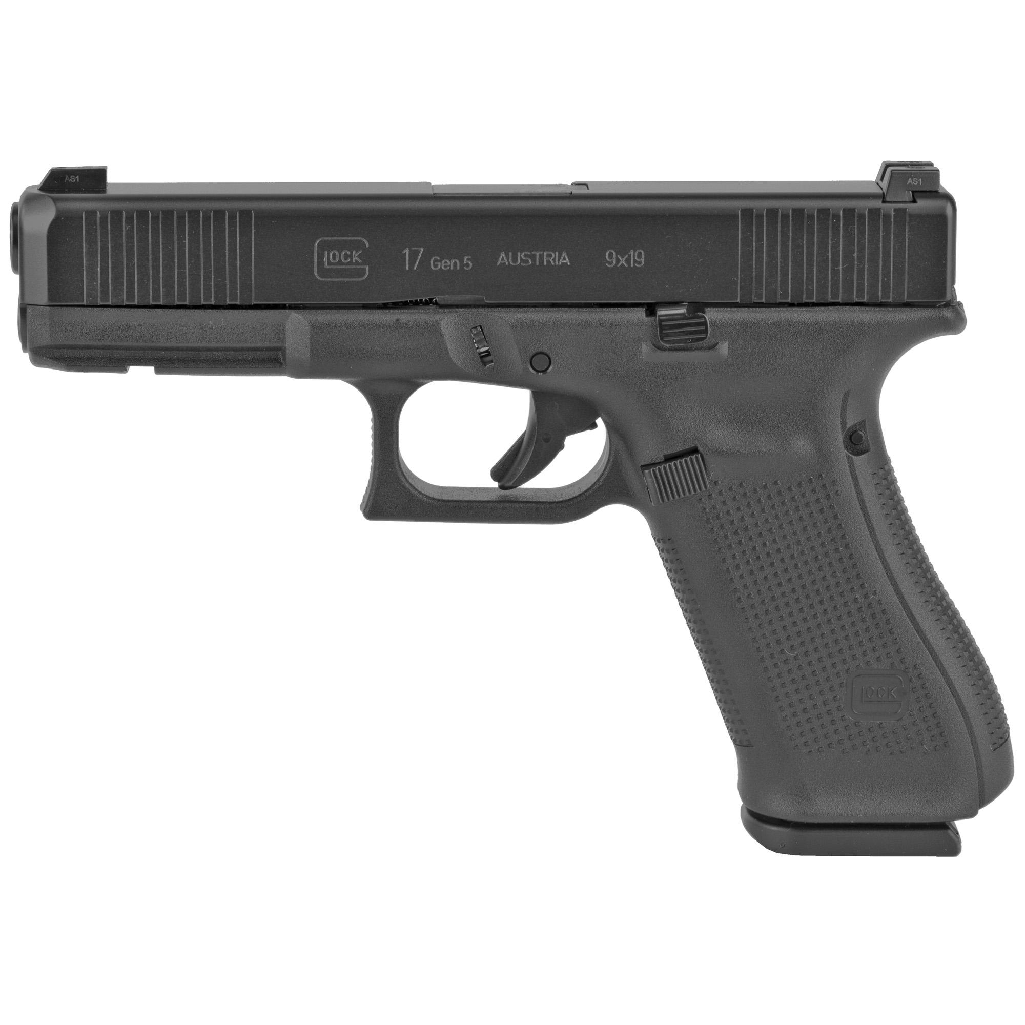 Glock 17 Gen5 9mm Gns 10rd 3 Mags Fs