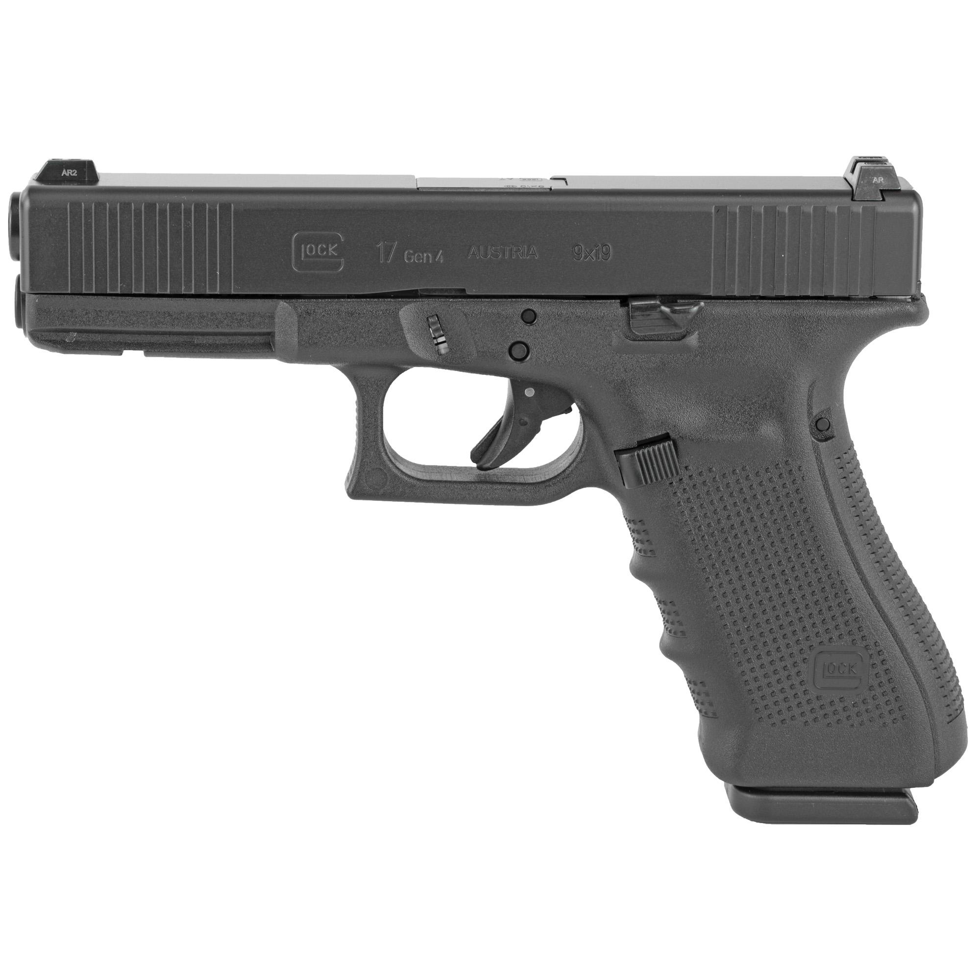 Glock 17 Gen4 9mm 10rd Fs Gns 3mags