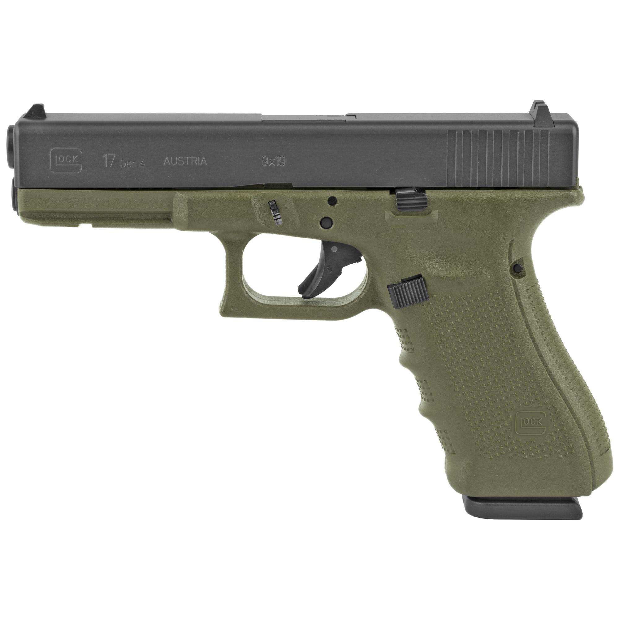 Glock 17 Gen4 9mm 17rd Od Rebuilt