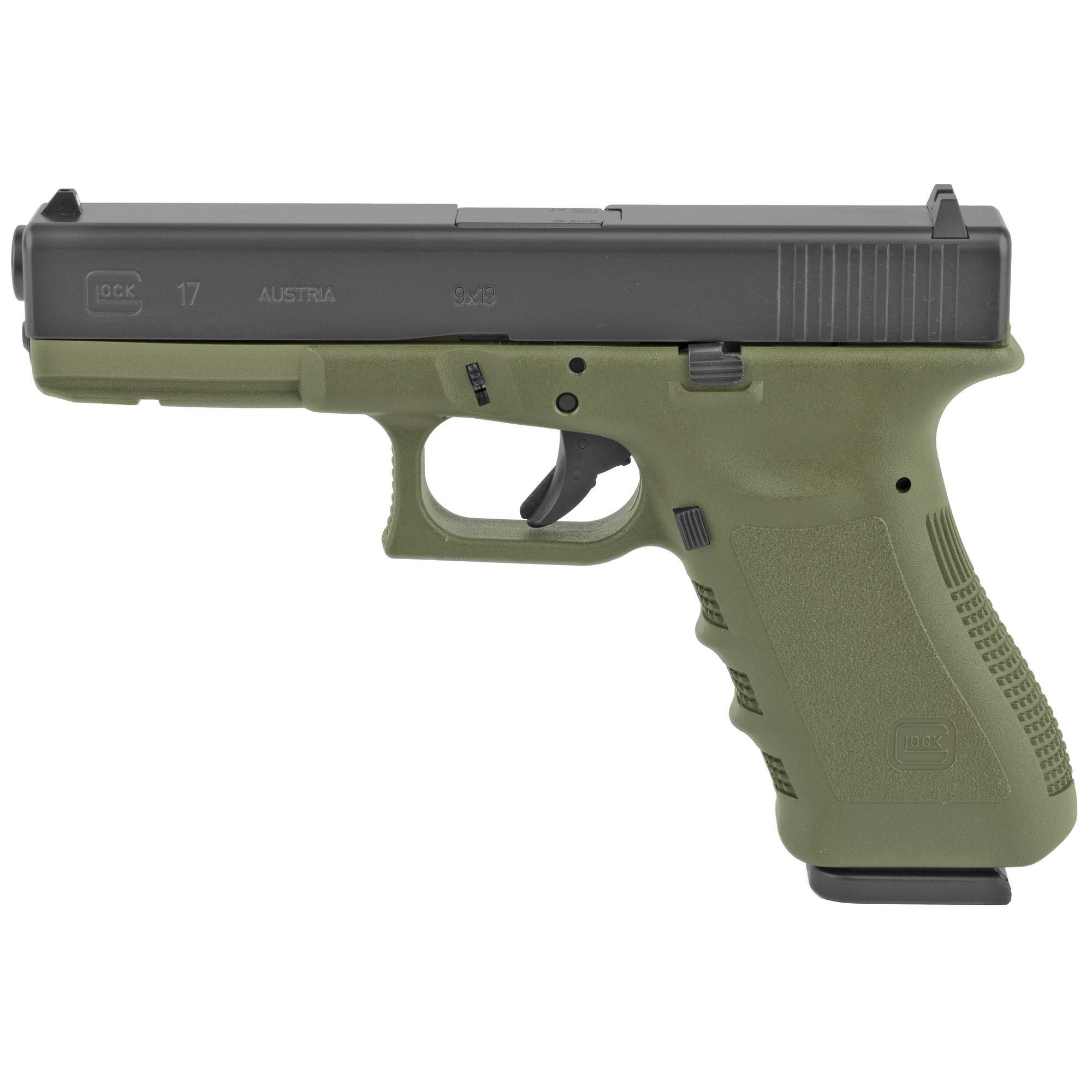 Glock 17 9mm 17rd Rebuilt Od