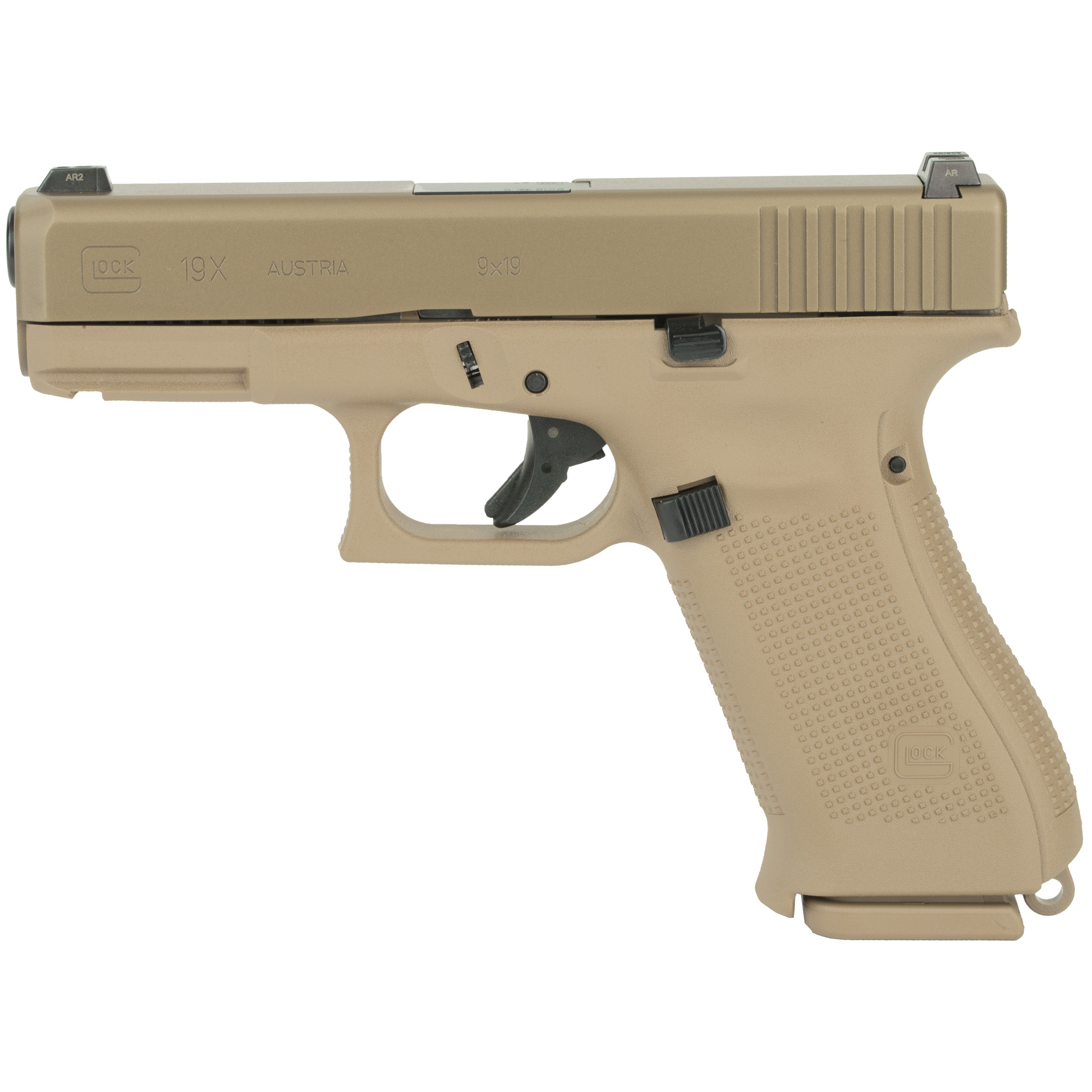 Glock 19x 9mm 17rd Gns 3 Mags Reb