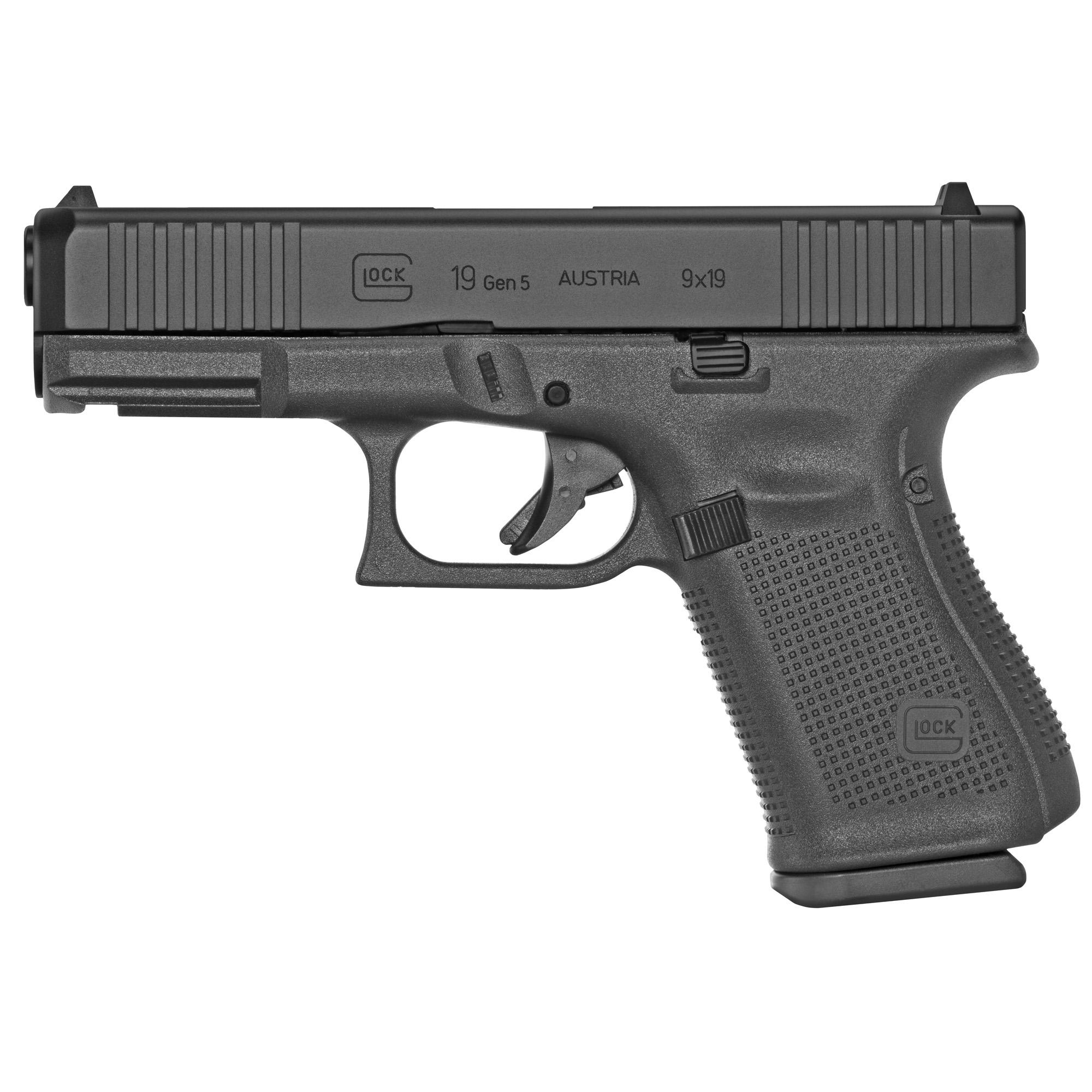 Glock 19 Gen5 9mm 15rd Fs Rebuilt