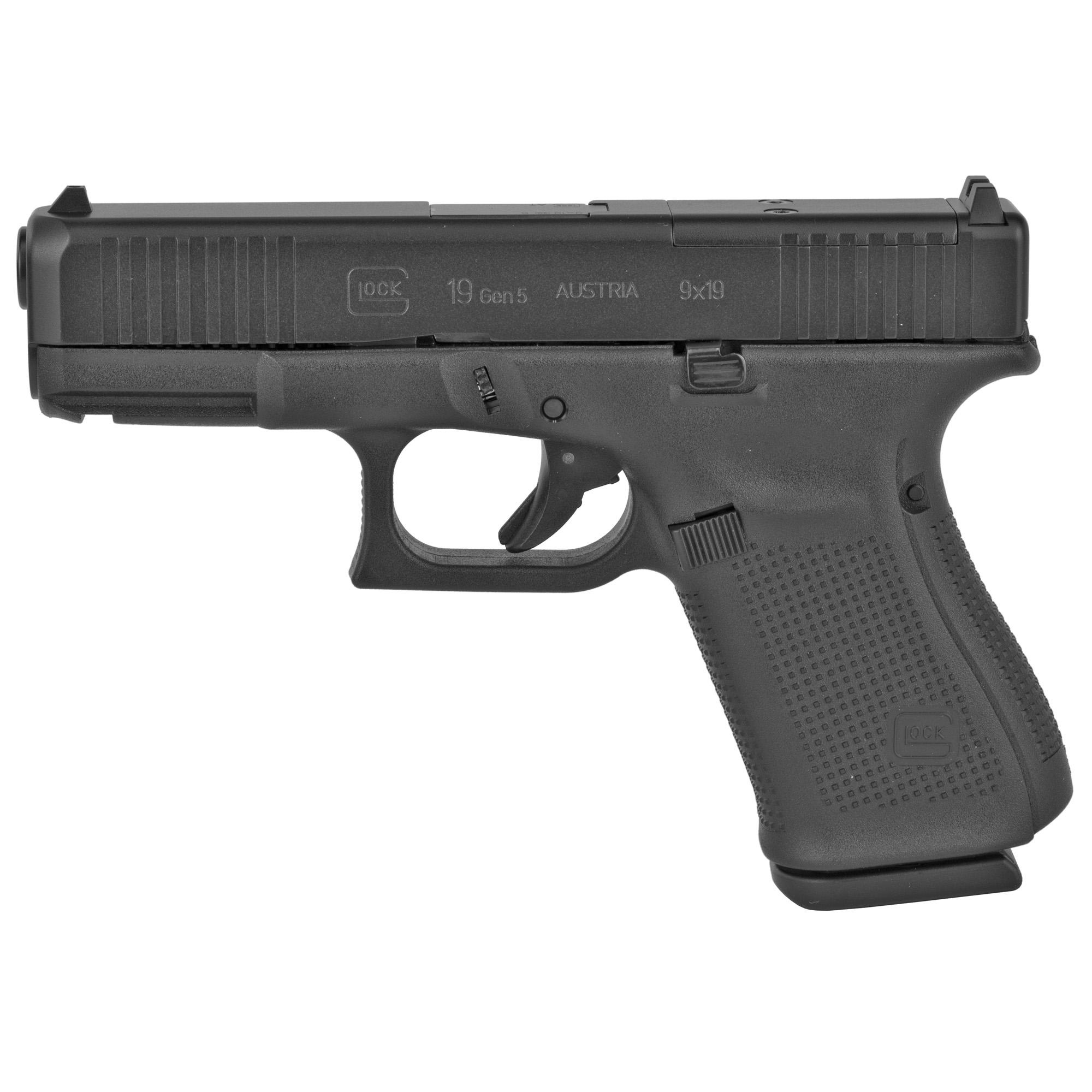 Glock 19 Gen5 9mm 15rd Mos Rebuilt