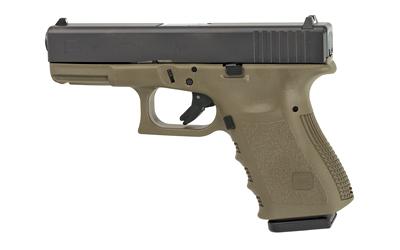 Glock 19 9mm 15rd Od Rebuilt