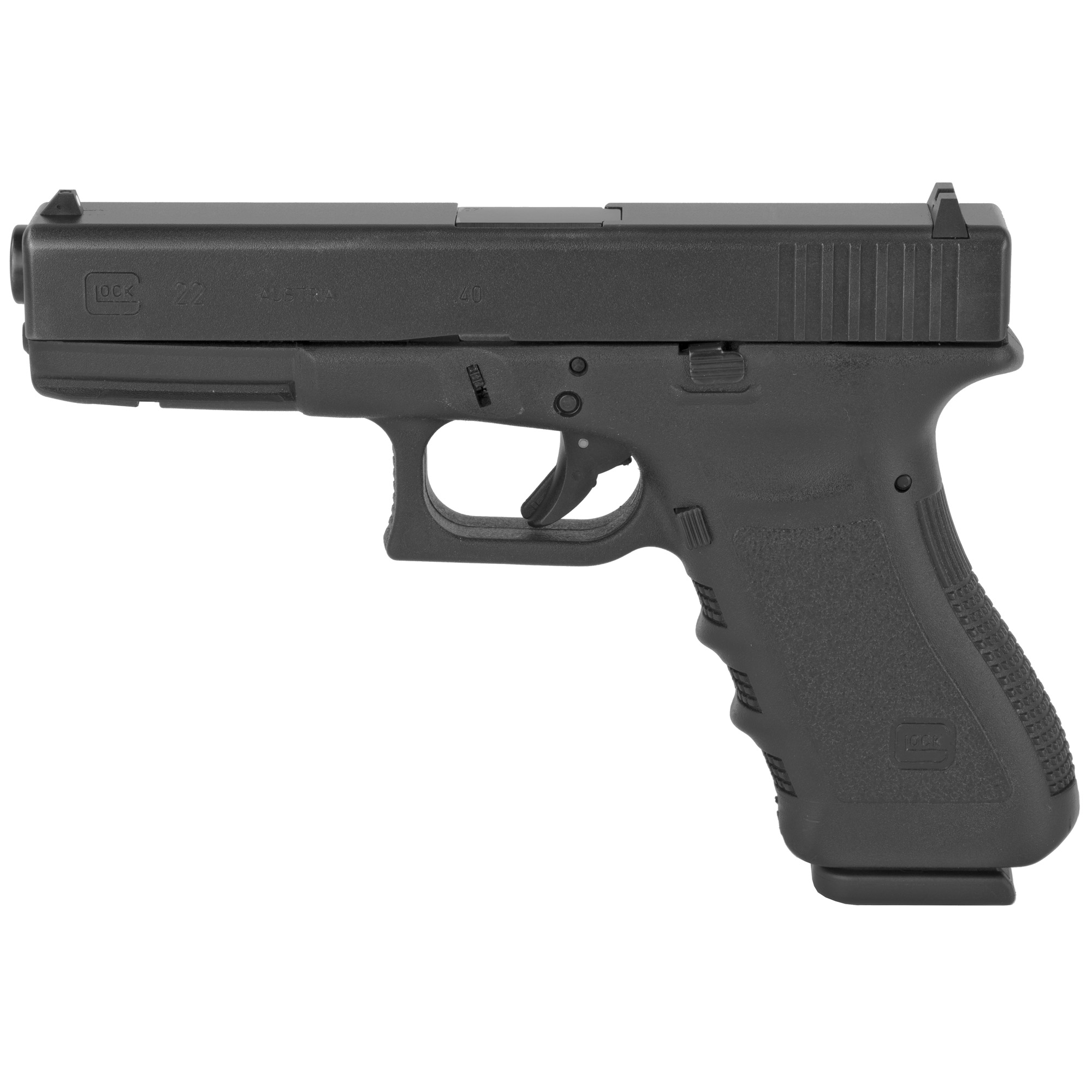 Glock 22 40sw 15rd Rebuilt