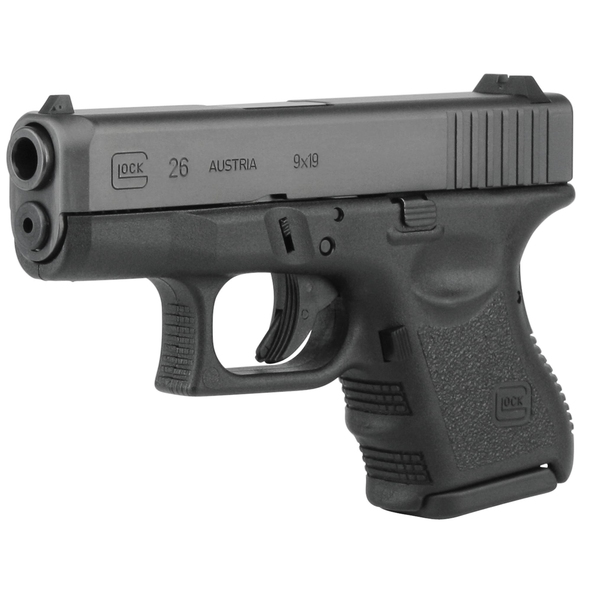 Glock 26 9mm 10rd Fxd 5lb Rebuilt