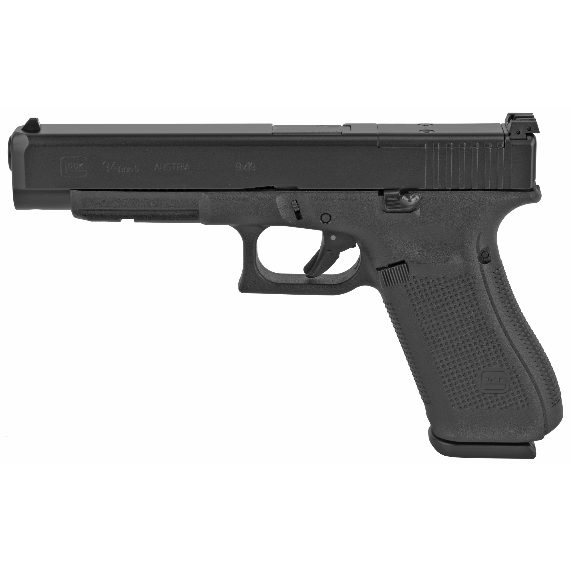 Glock 34 Gen5 9mm 17rd Mos Rebuilt