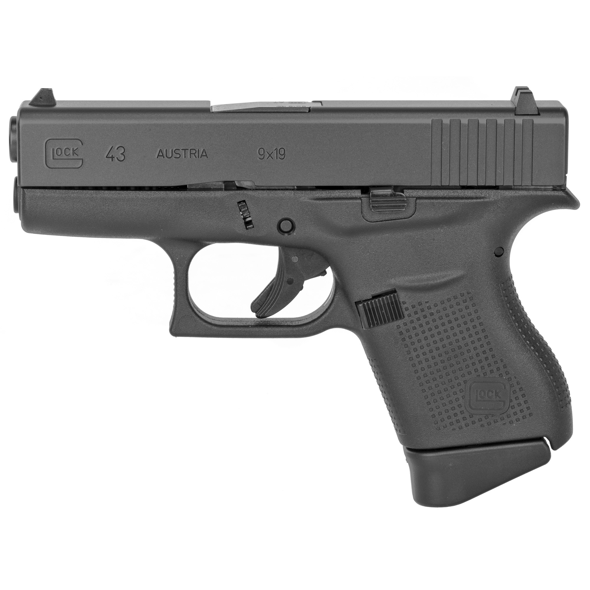 Glock 43 9mm 6rd Rebuilt