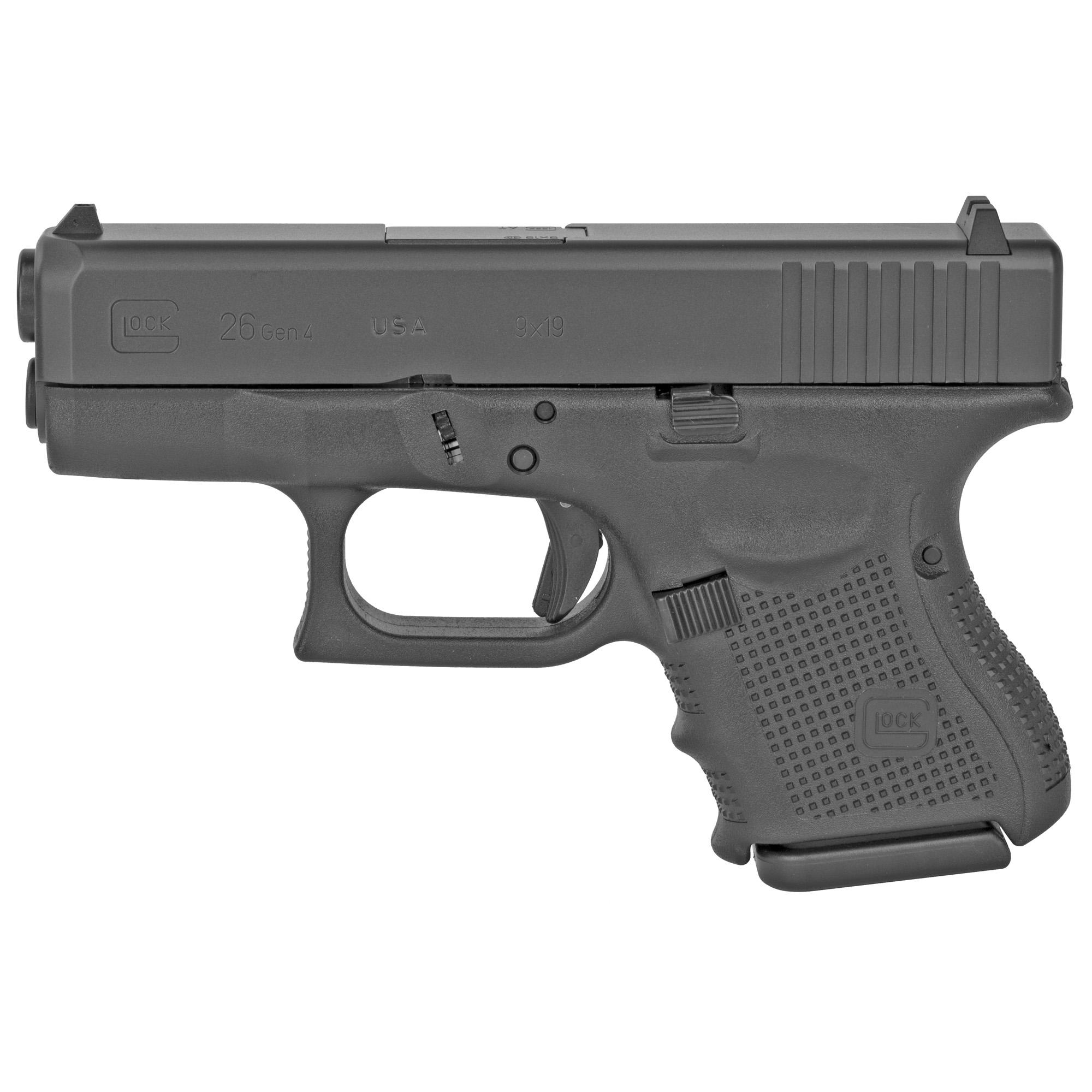 Glock 26 Gen4 9mm 10rd 3 Mags