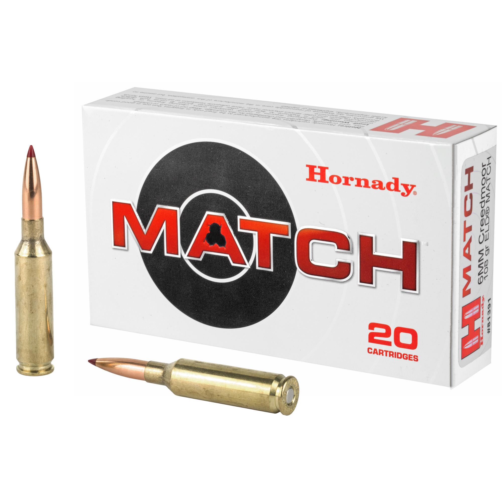 Hrndy 6mm Creed 108gr Eld-m 20/200