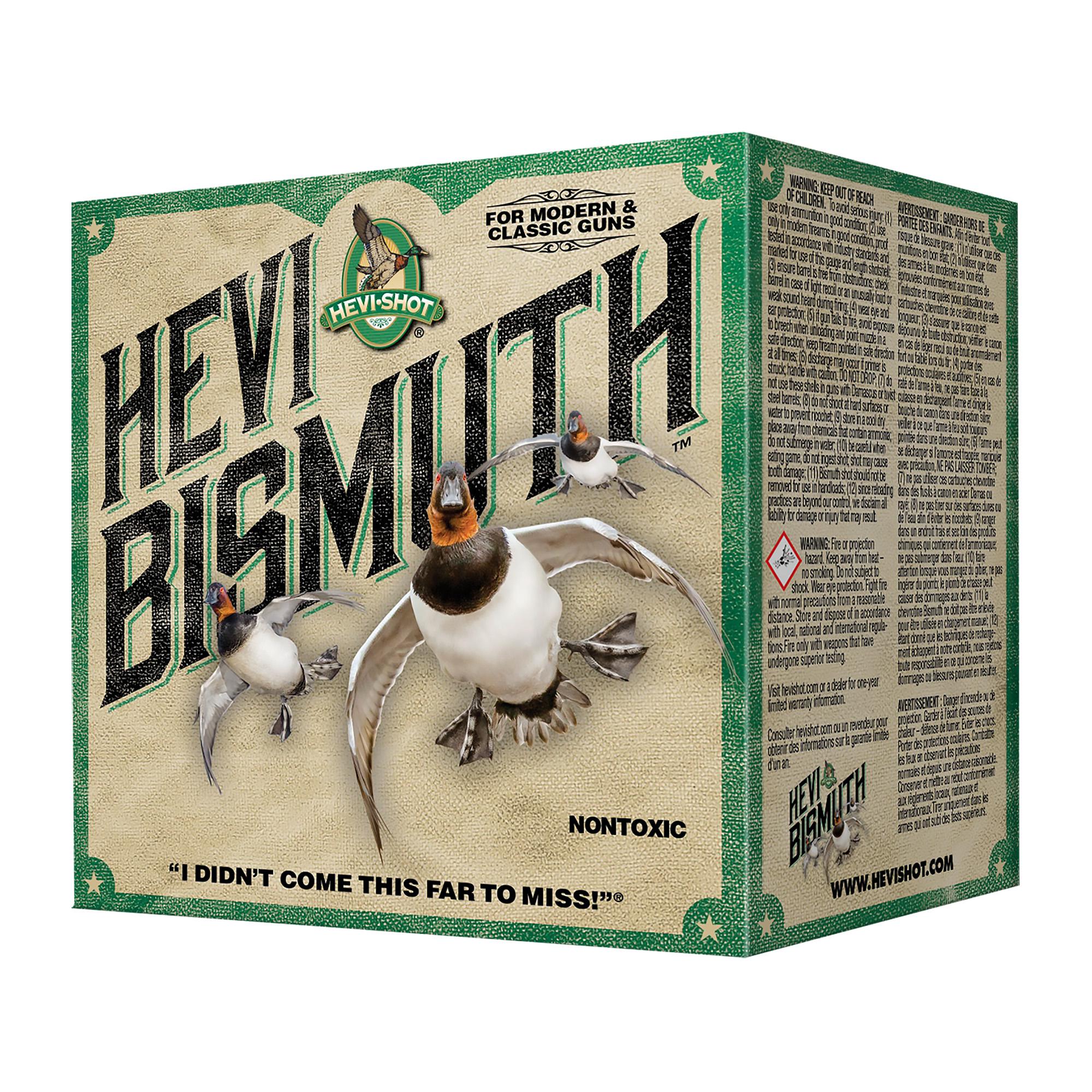 "Hevi Bismuth 20ga 3"" #2 25/250"