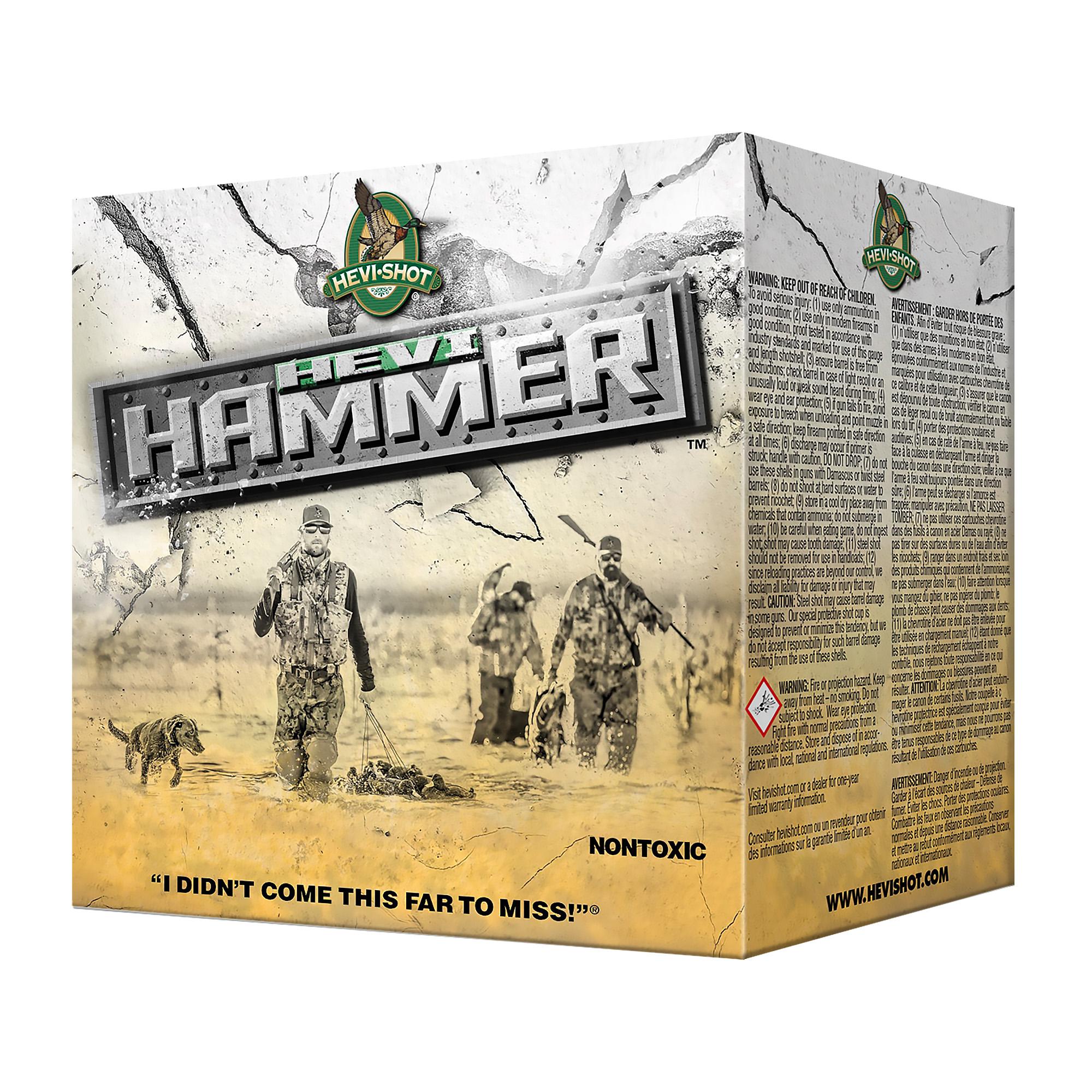 "Hevi Hammer 20ga 3"" #2 25/250"