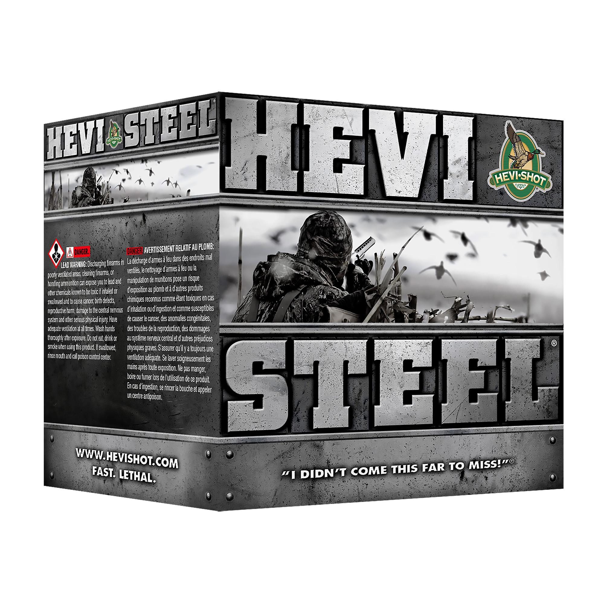 "Hevi Steel 12ga 3"" #3 25/250"