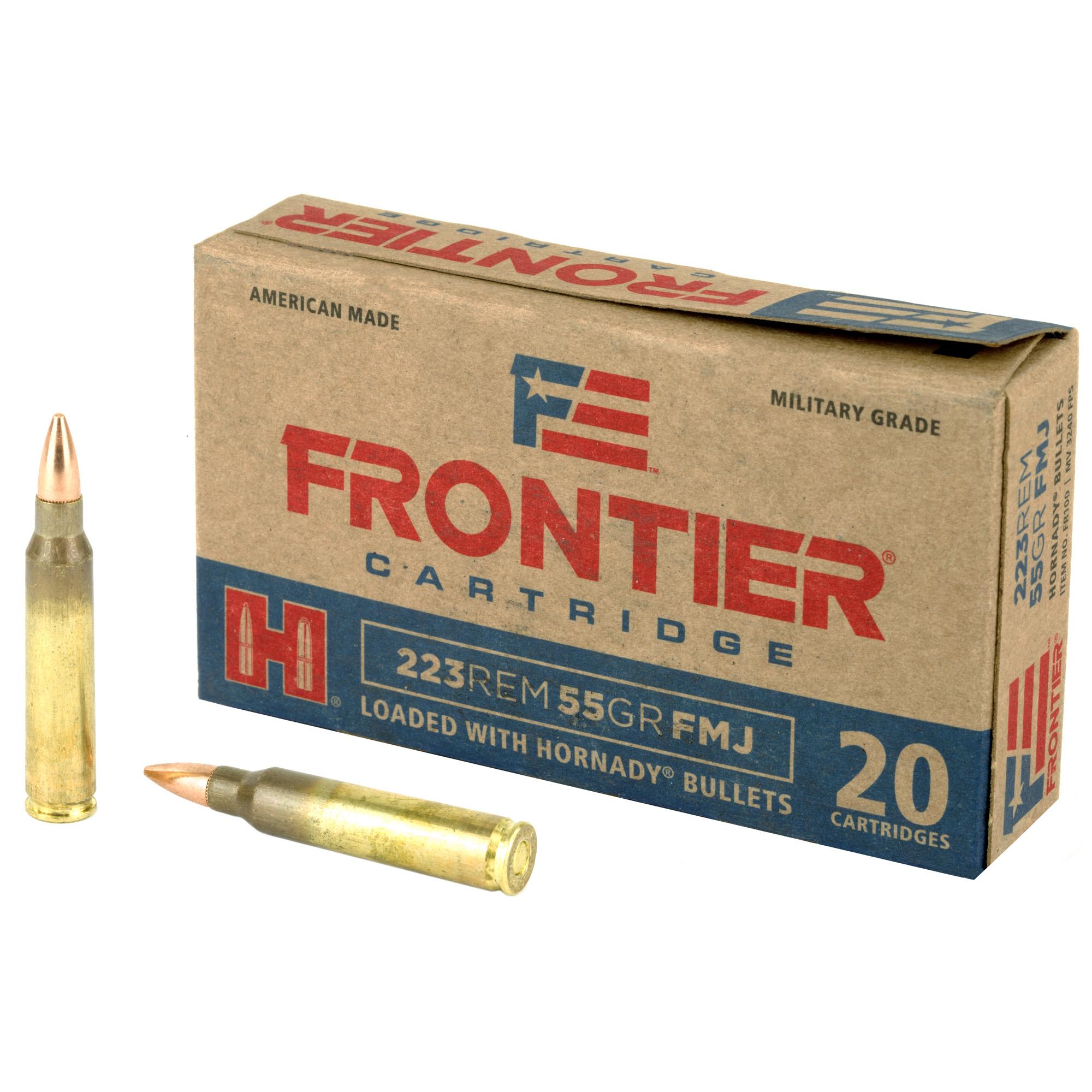 Frontier 223rem 55gr Fmj 20/500