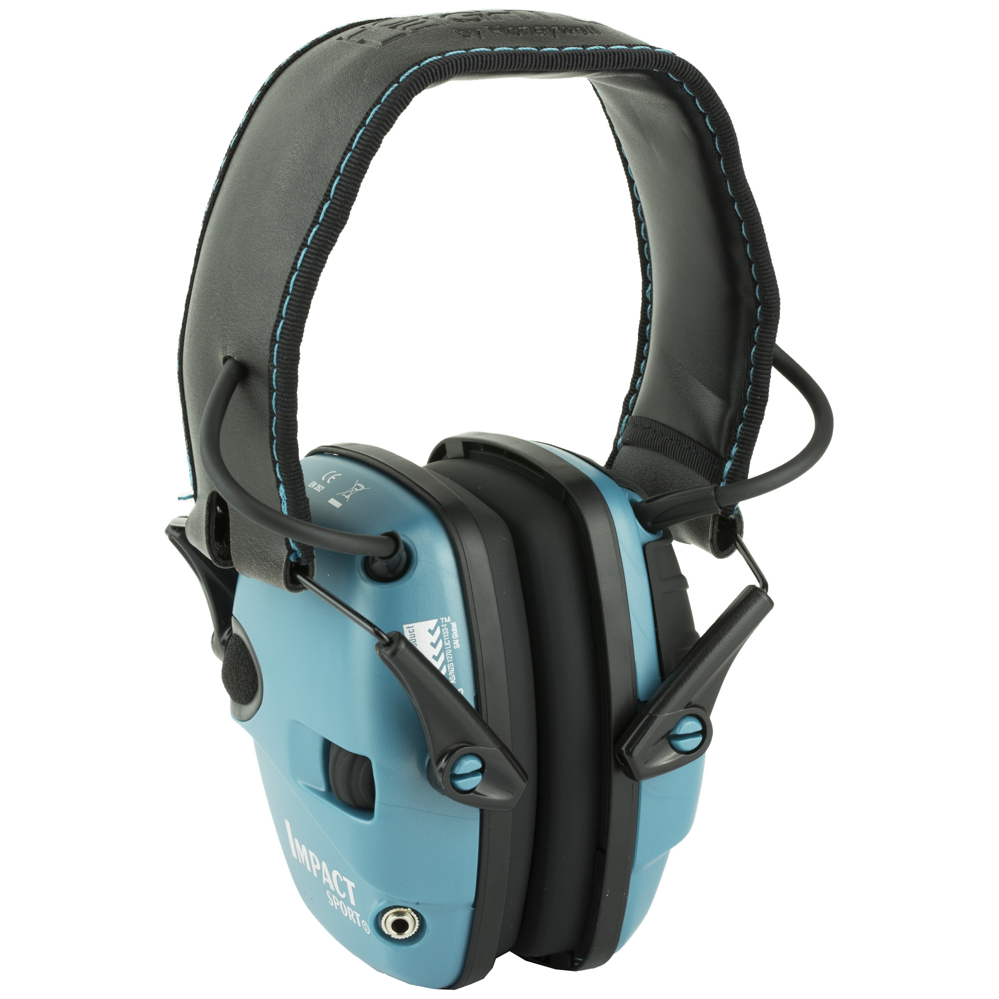 H/l Impact Elect Muff Fldng Teal