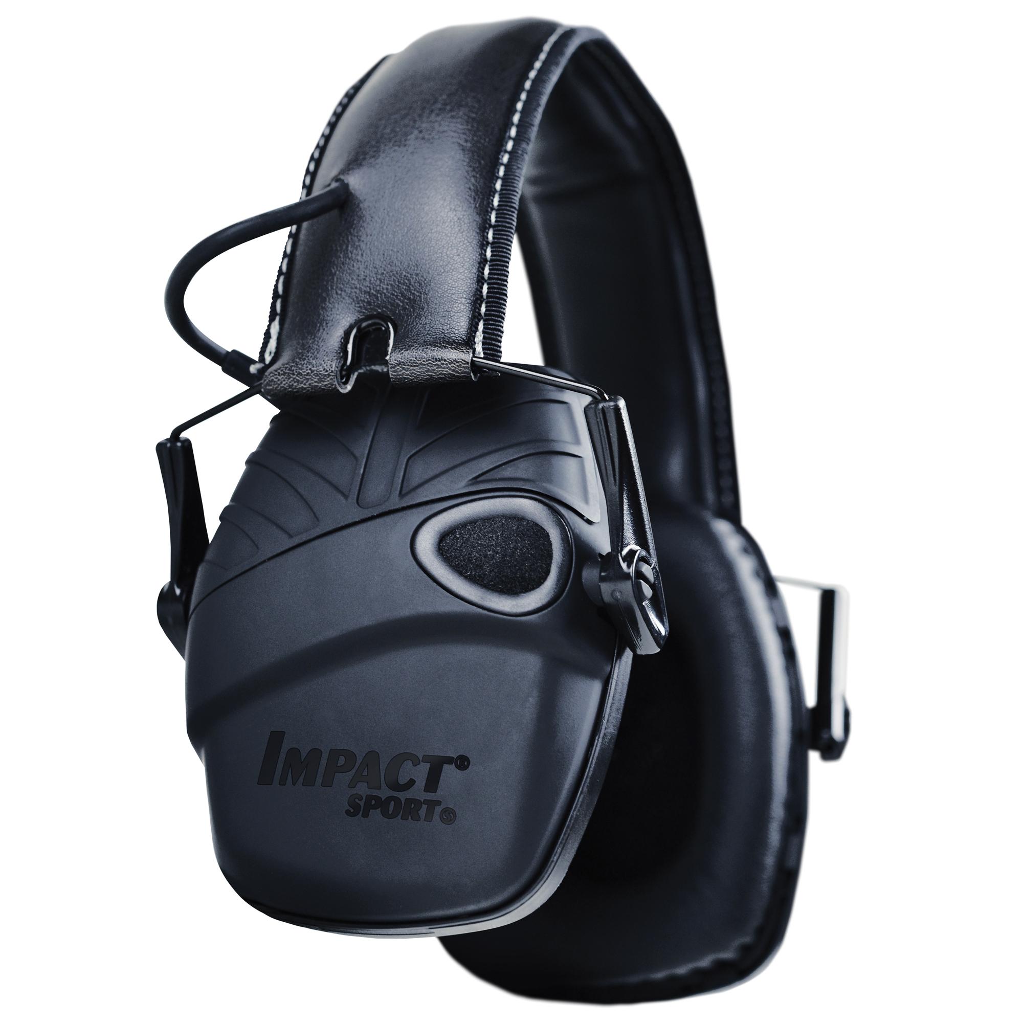 H/l Impact Sport Tac Elect Muff Blk