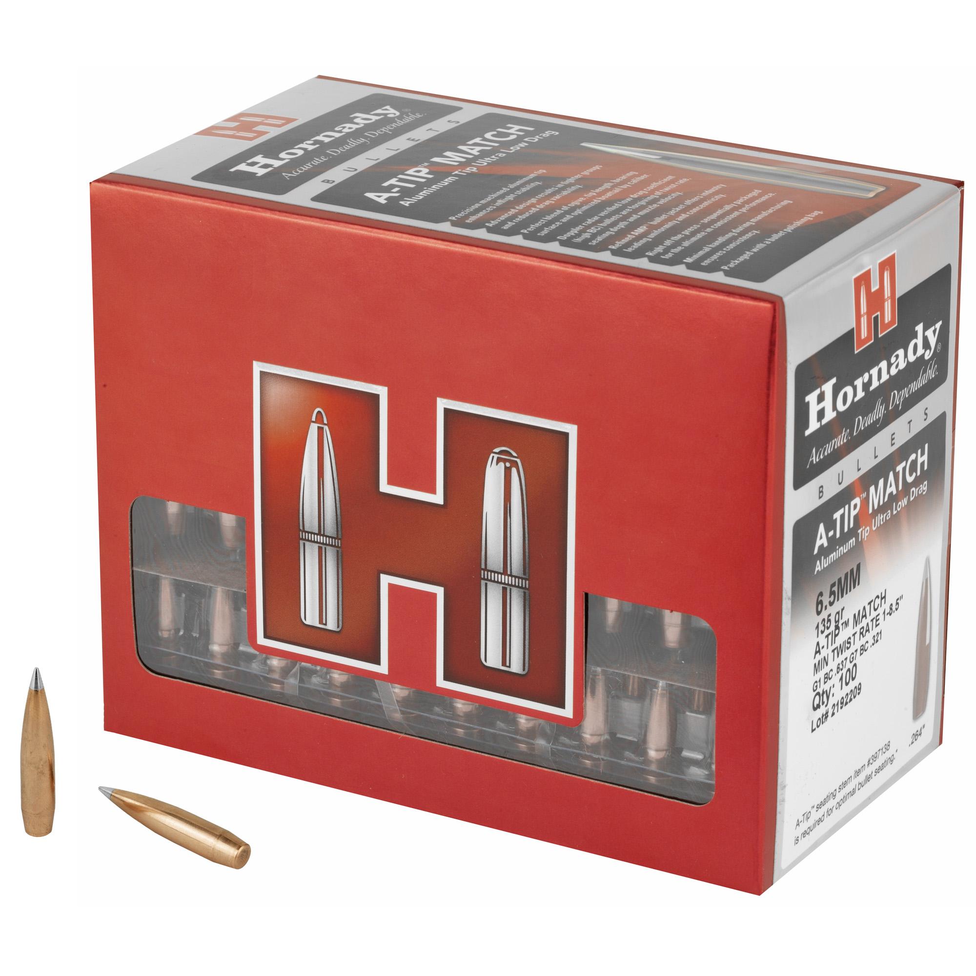 Hrndy A-tip 6.5mm .264 135gr 100ct