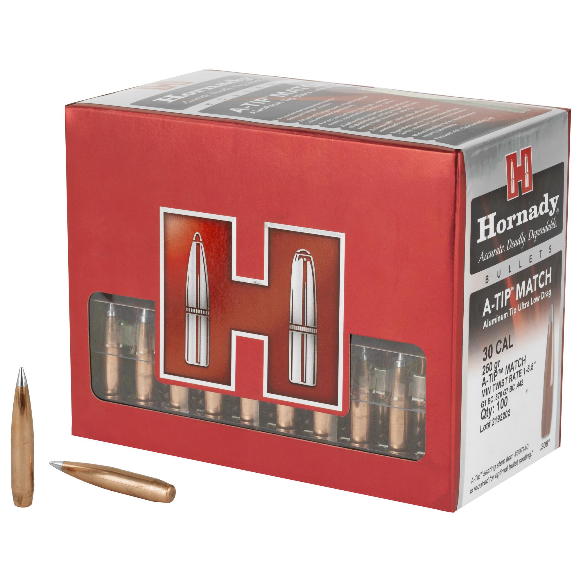 Hrndy A-tip 30cal .308 250gr 100ct