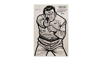Kleen Br Target Bad Guy 23x35 100pk