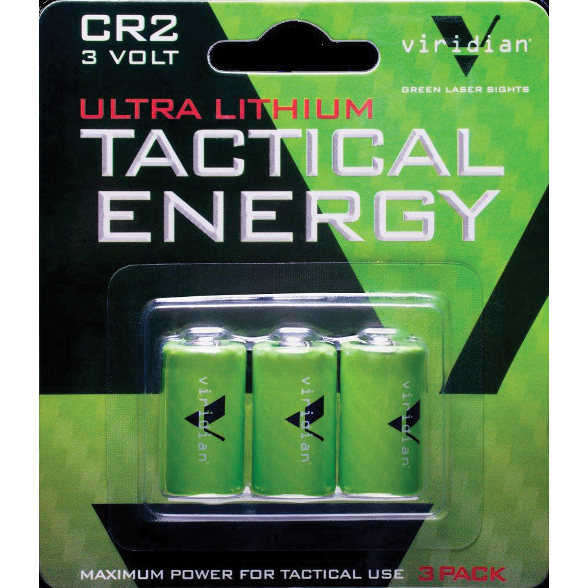 Viridian Cr2 Lith Battery 3-pk
