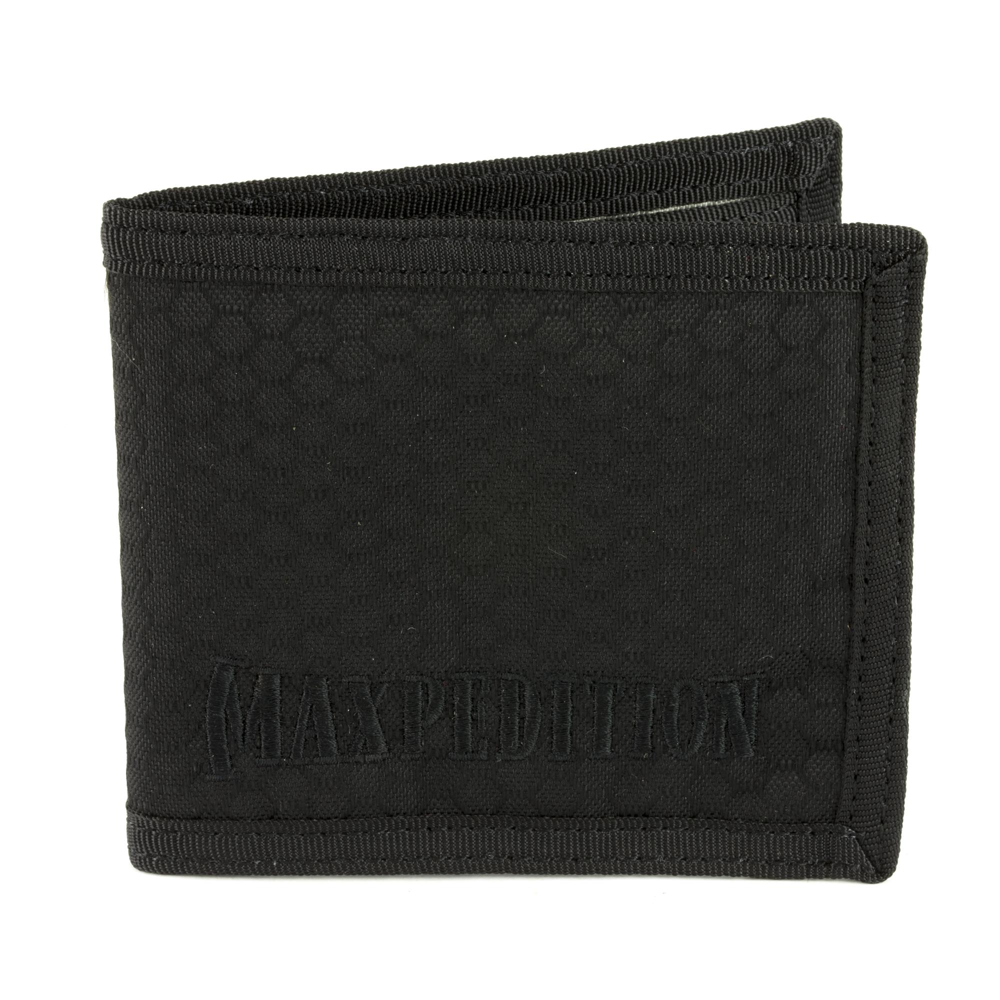 Maxpedition Bfw Bi Fold Wallet Blk