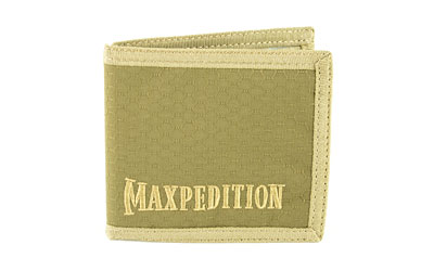 Maxpedition Bfw Bi Fold Wallet Tan