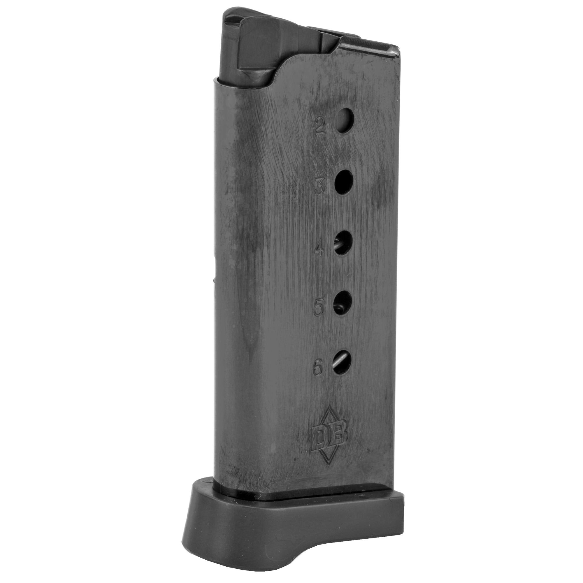 Mag Dbf Db9 9mm 6rd W/flat Bottom