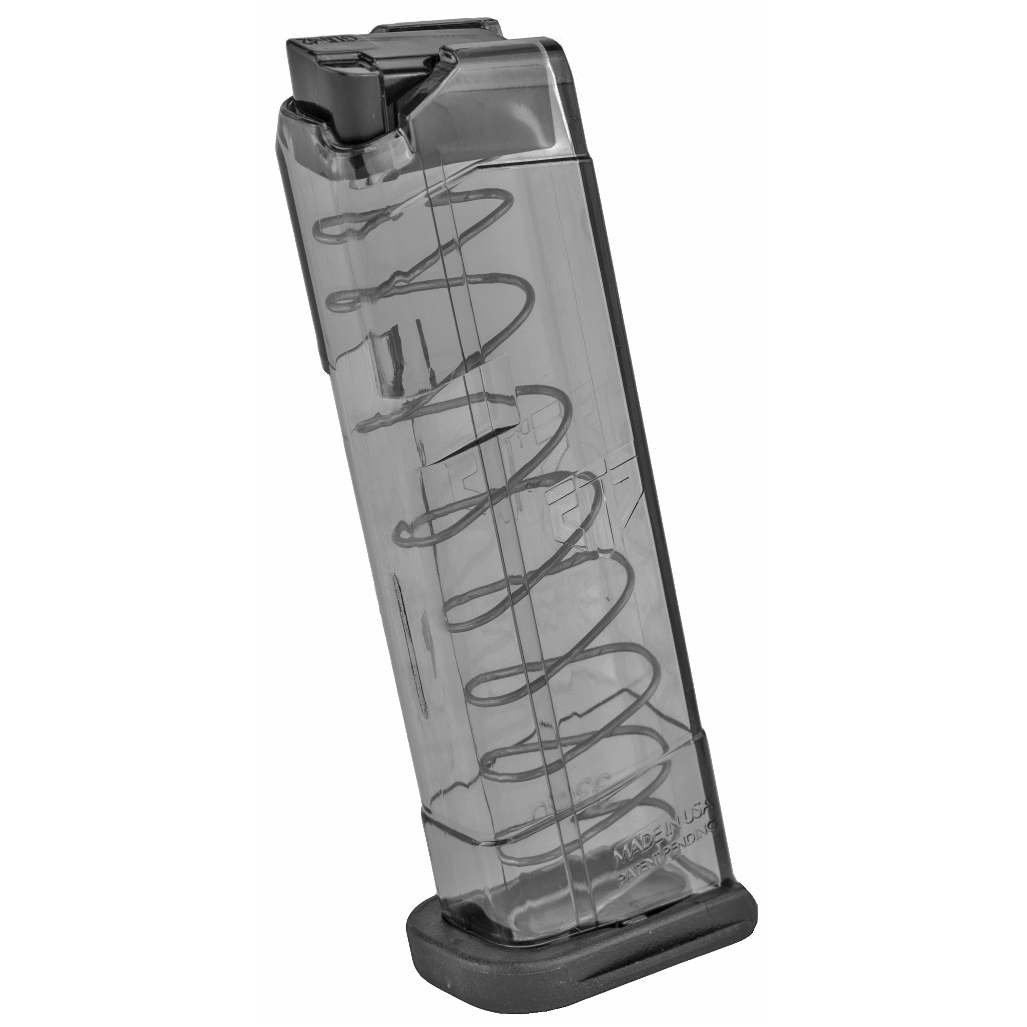 Ets Mag For Glk 42 380acp 9rd Smoke