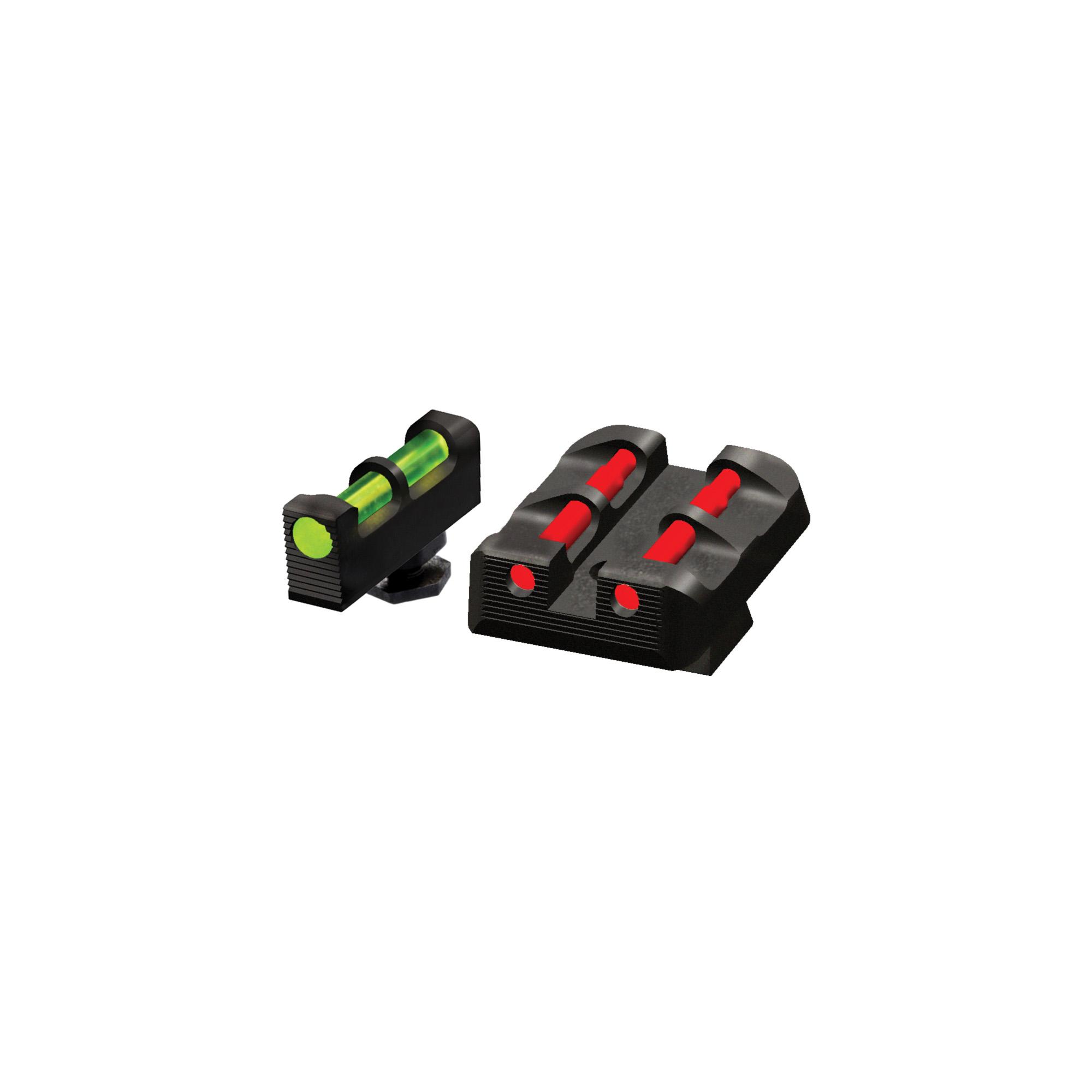 Hiviz Glock Interchange Sight Set