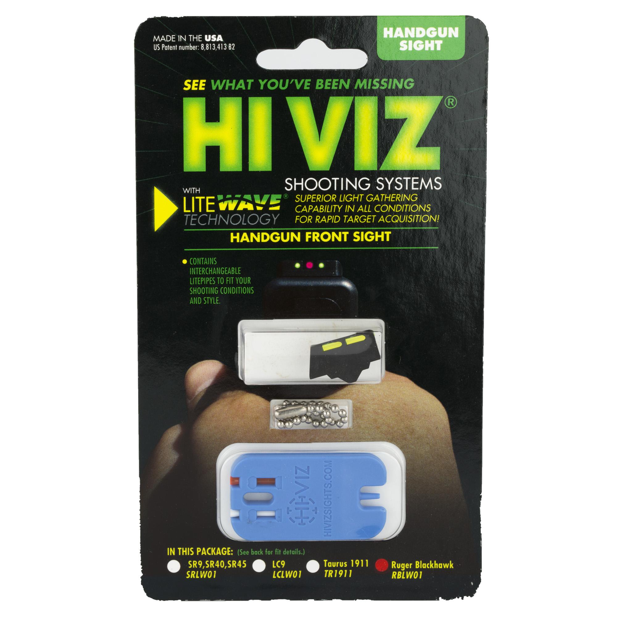 Hiviz Litewave Frnt Sight Rug Bh