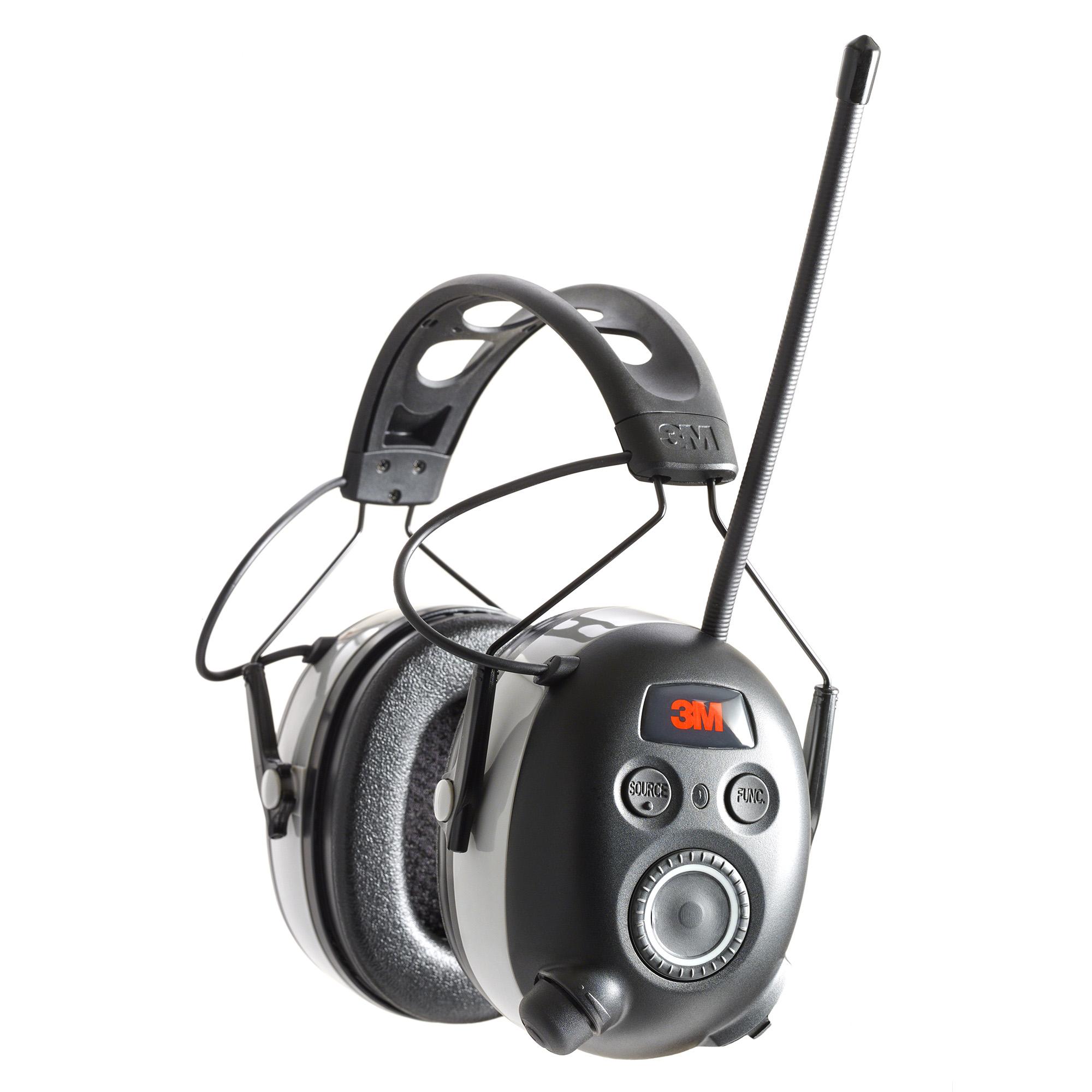 3m Worktunes Bluetooth Earmuffs Blk
