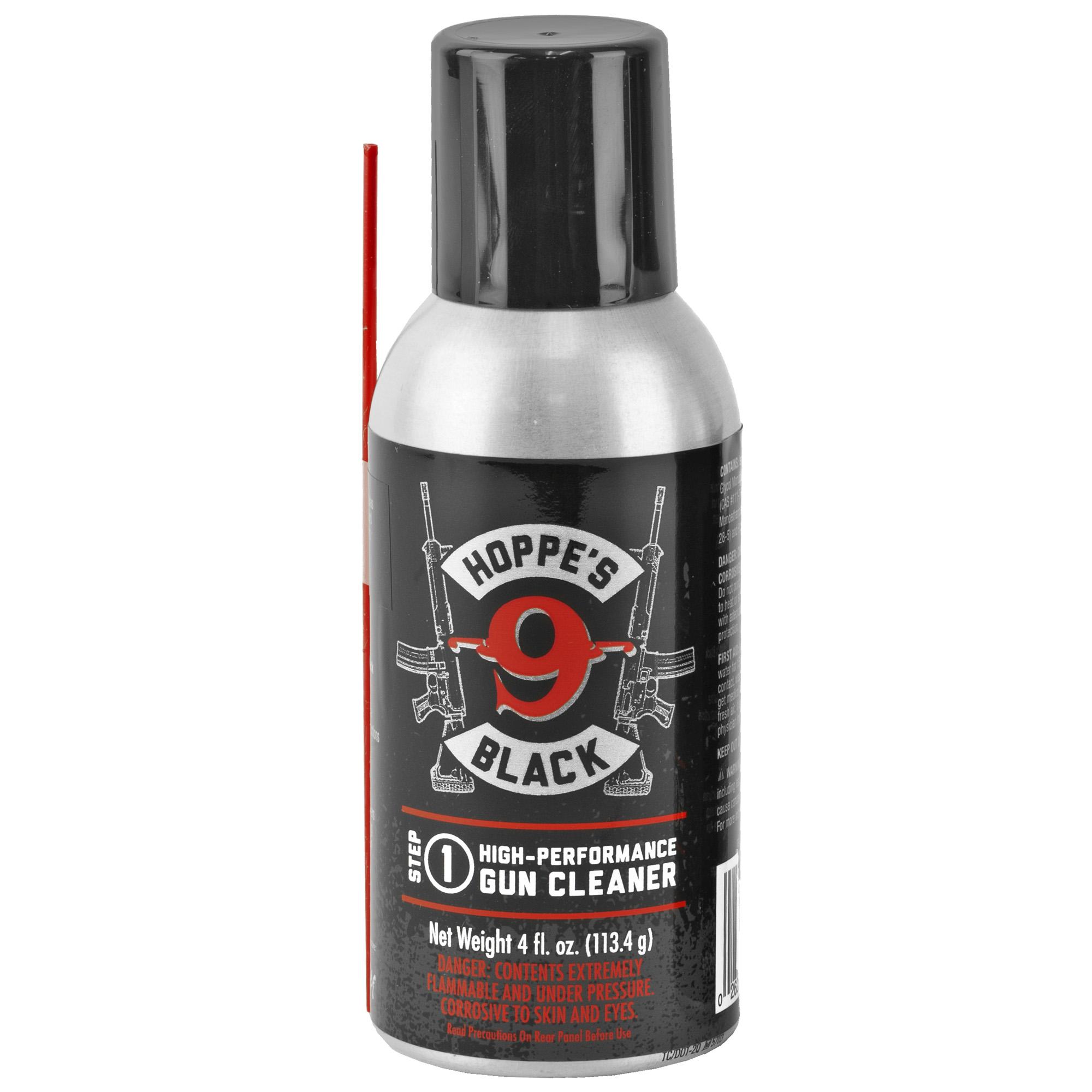 Hoppes Black Gun Cleaner 4oz Sngl