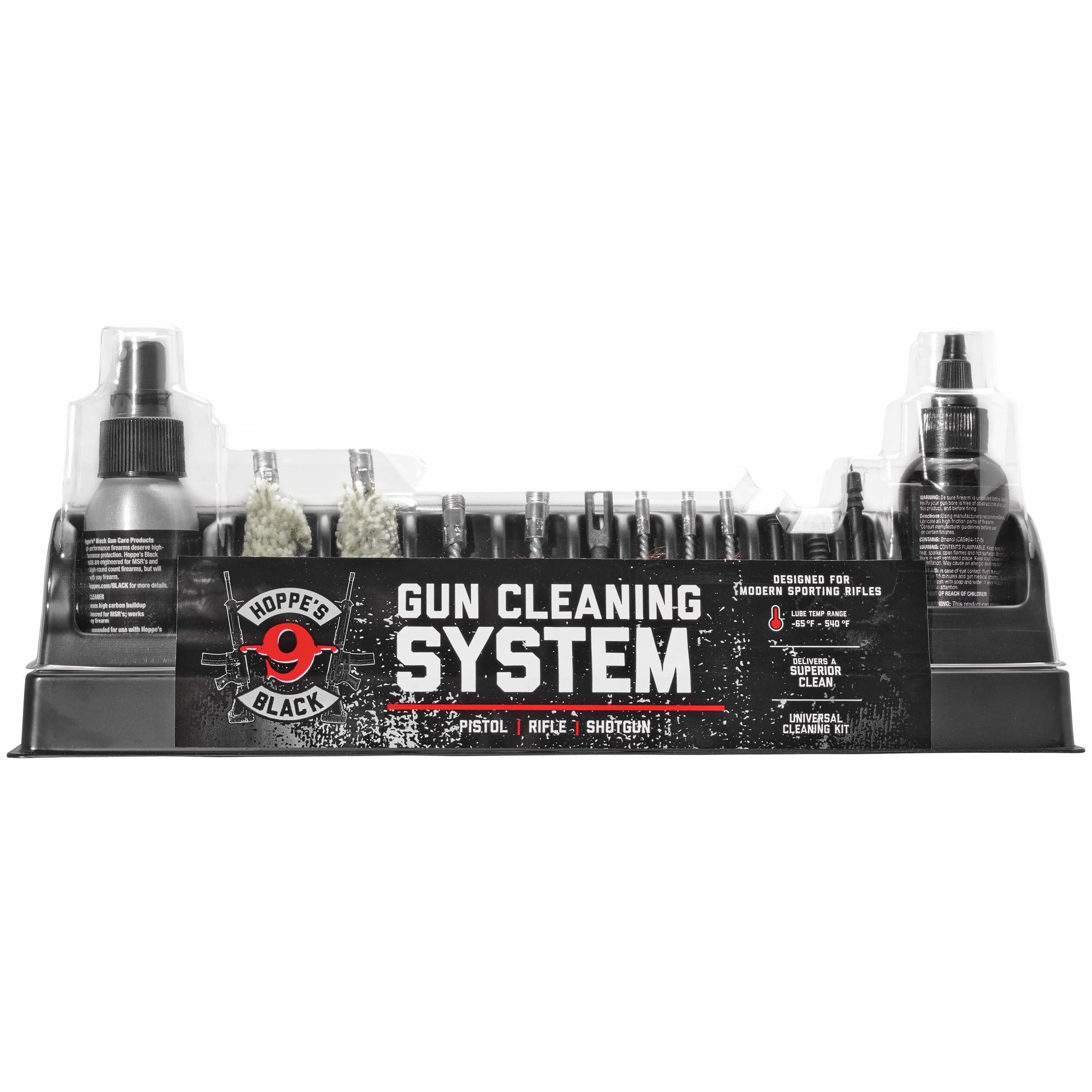Hoppes Black Universal Cleaning Kit