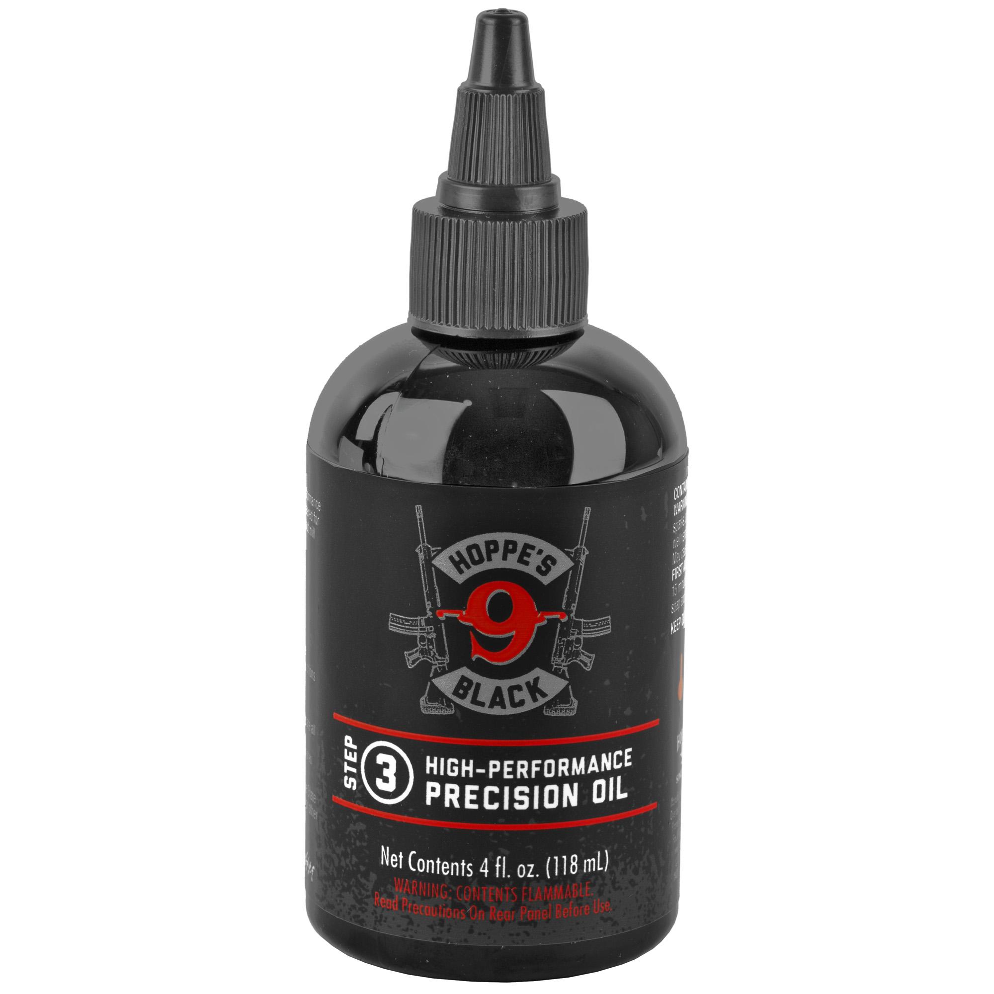 Hoppes Black Lube Bottle 4oz 6pk