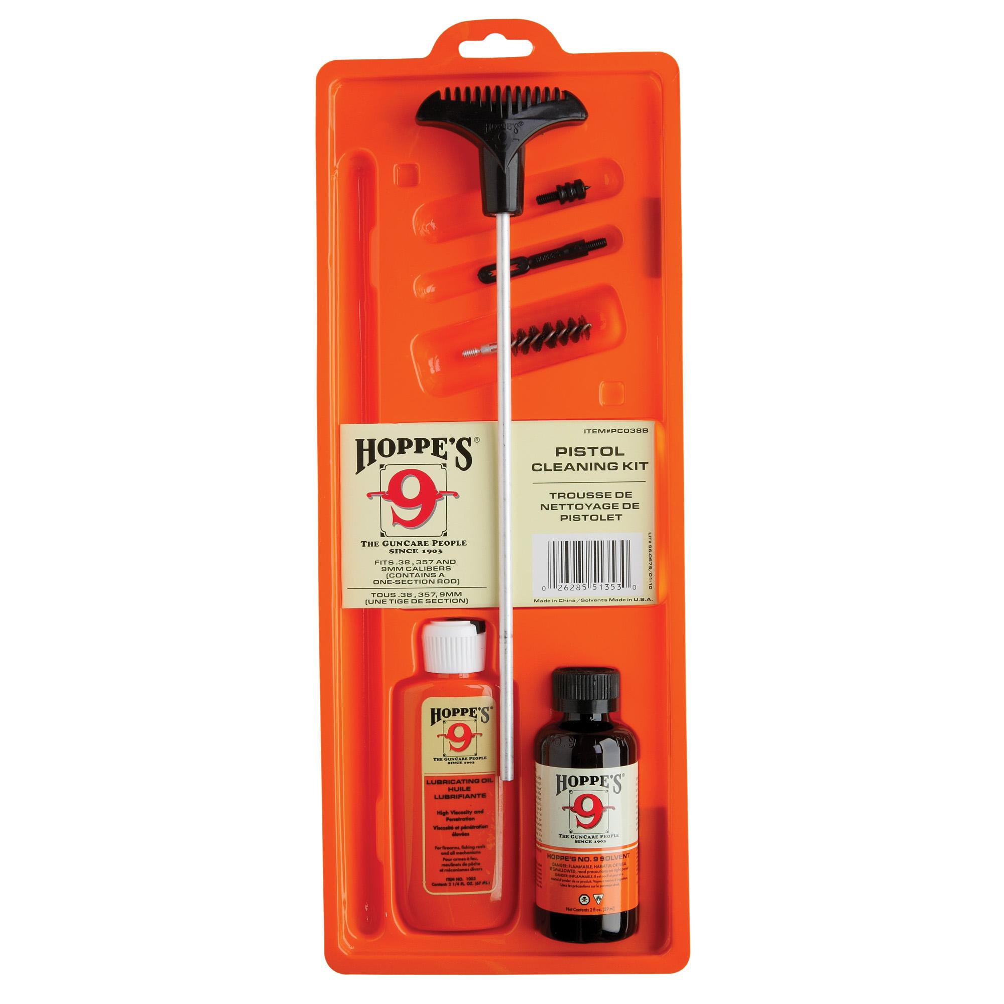 Hoppes 38/357/9mm Pstl Clng Kit