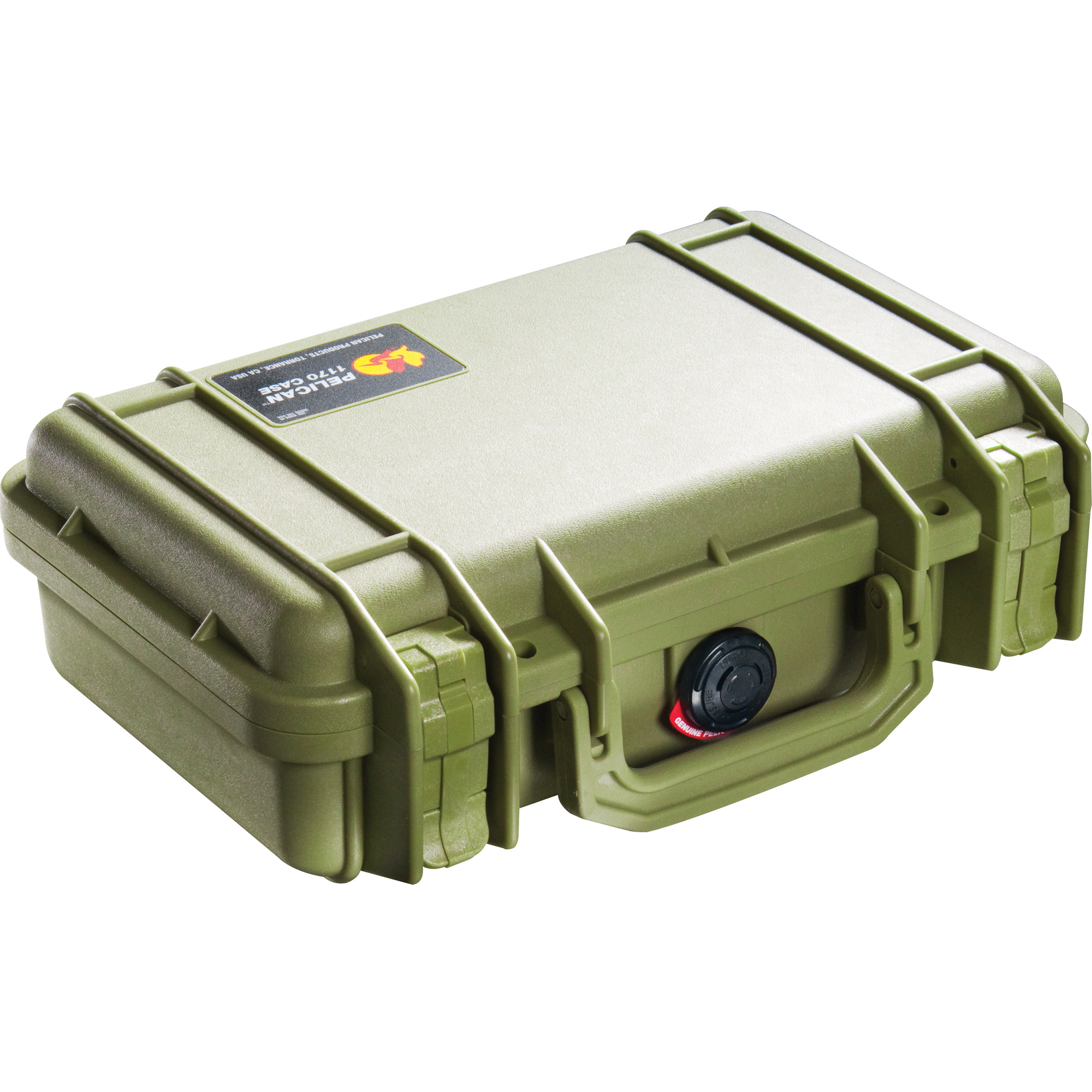 Pelican Case 1170 Custom Handgun Od
