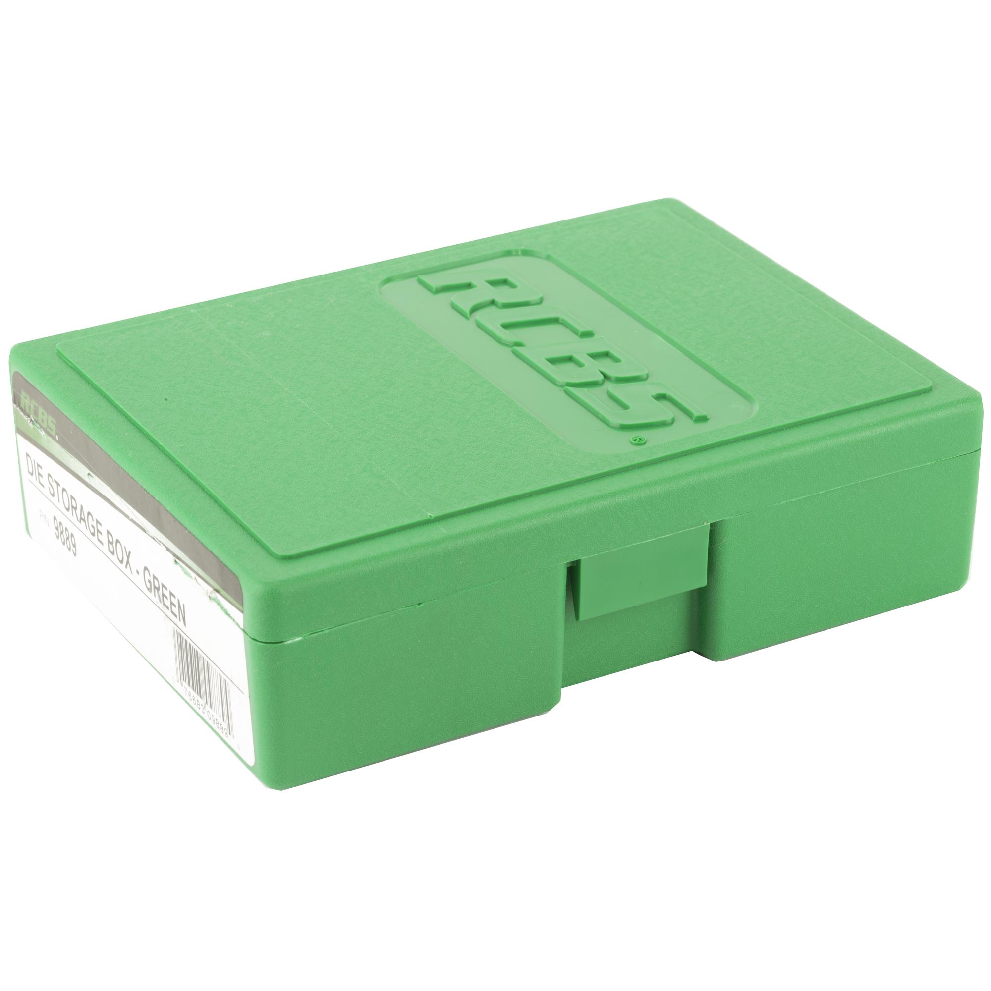 Rcbs Die Storage Box - Green